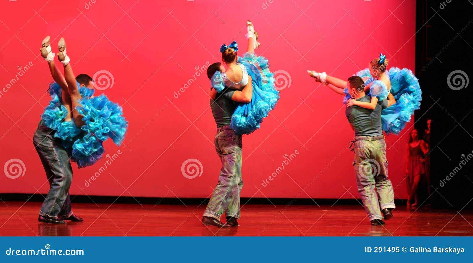 Het moderne dansen