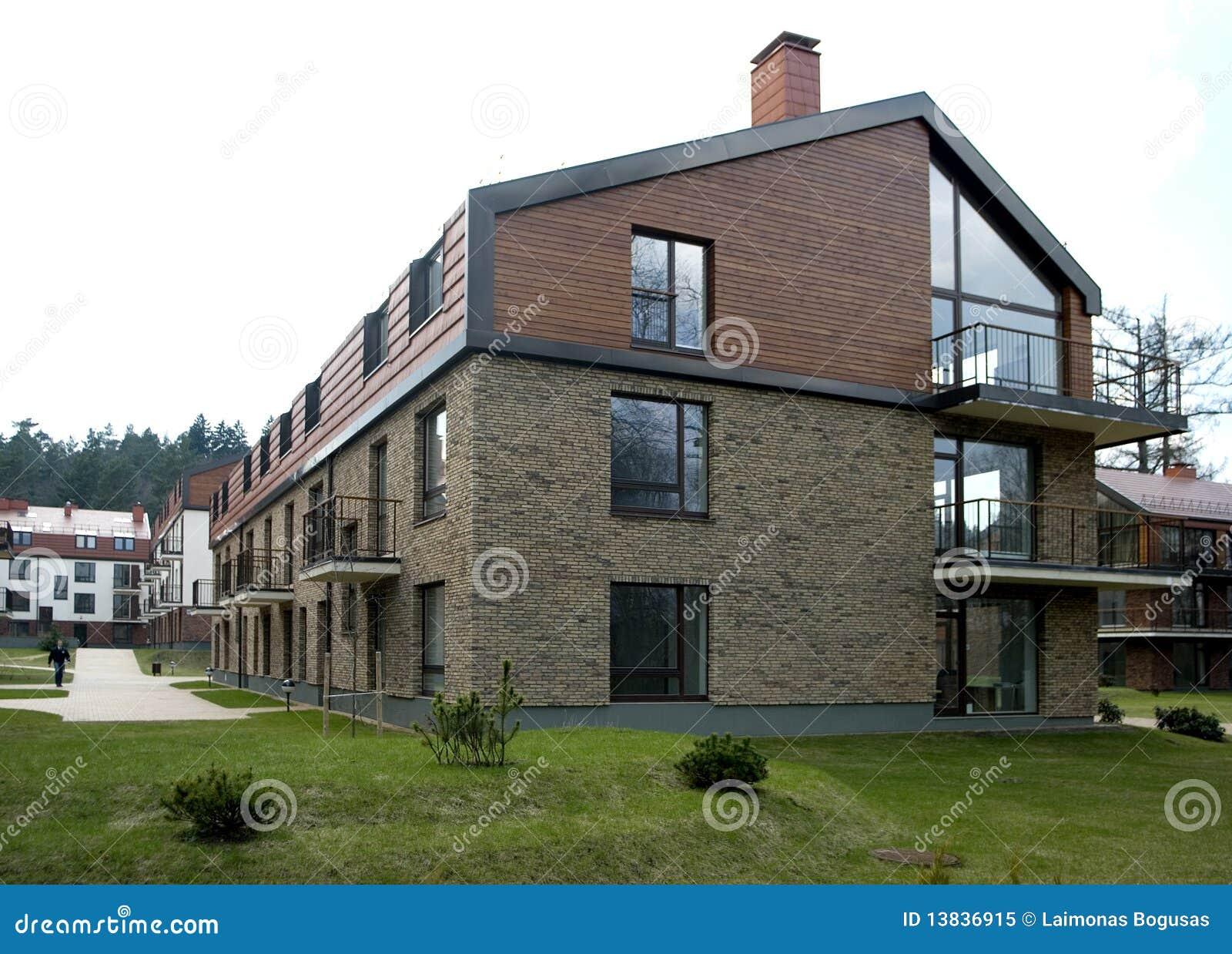Het moderne het leven huis stock afbeelding afbeelding bestaande uit stad 13836915 - Zie in het moderne huis ...
