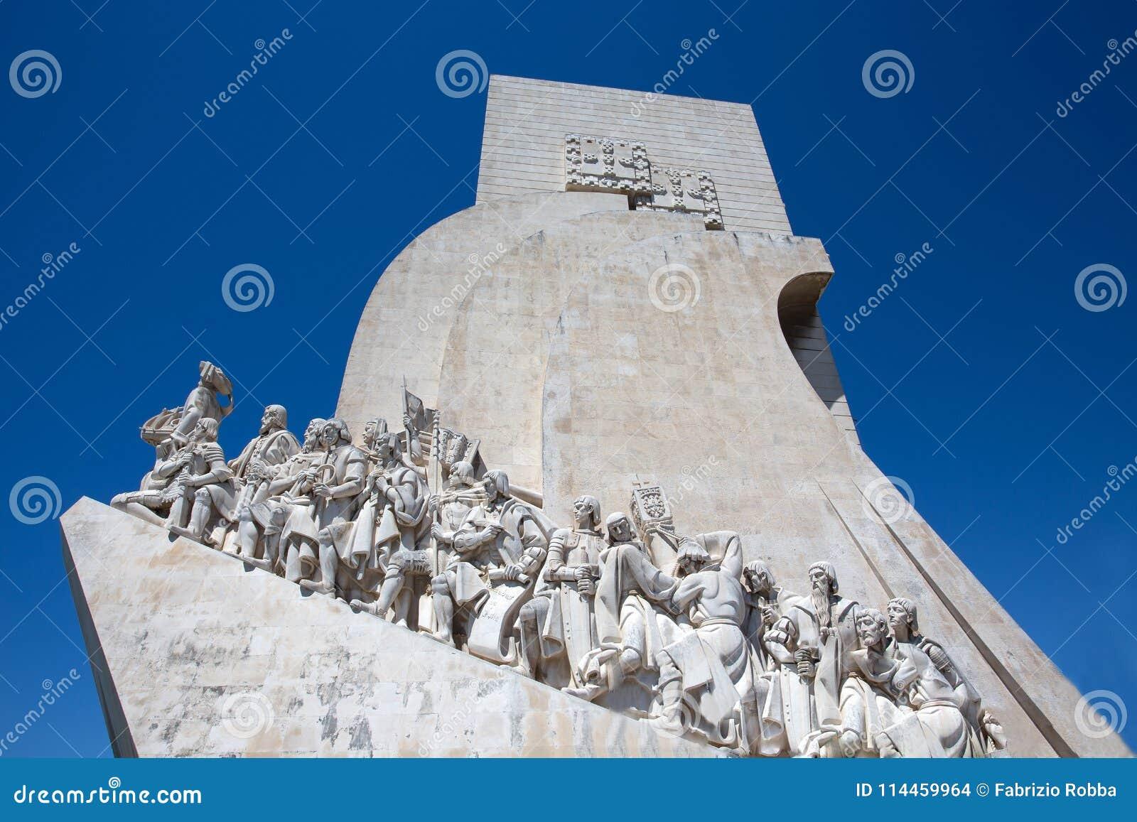 Het Monument aan de Ontdekkingen, Lissabon, Portugal, Europa