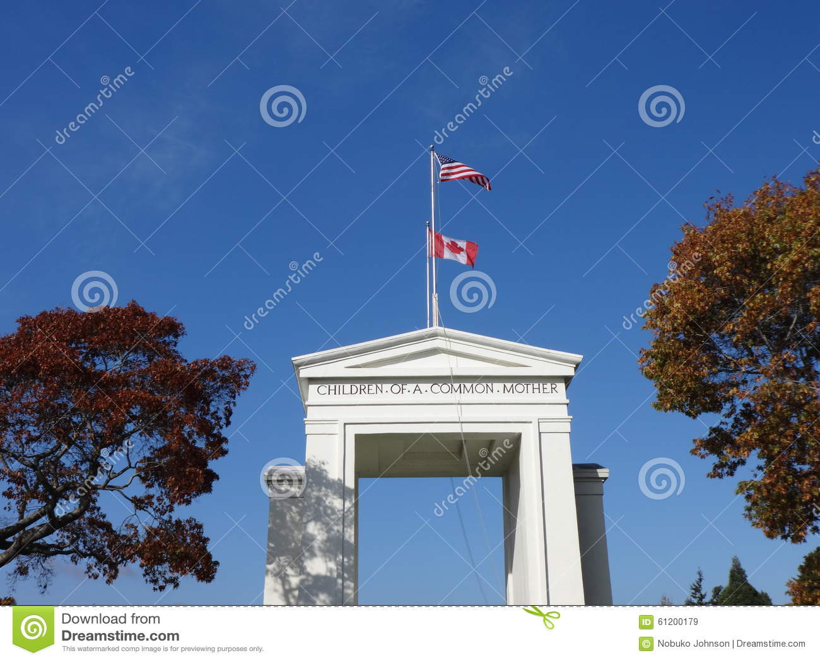 Het monument van de Vredesboog