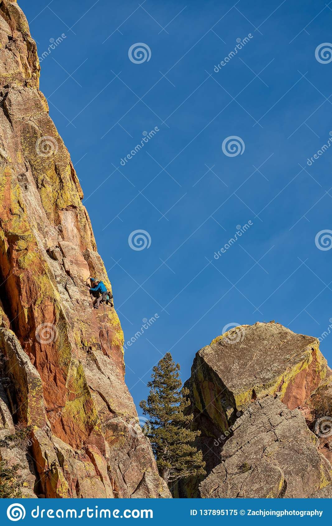 Het mooie Eldorado Park van de Canionstaat Colorado