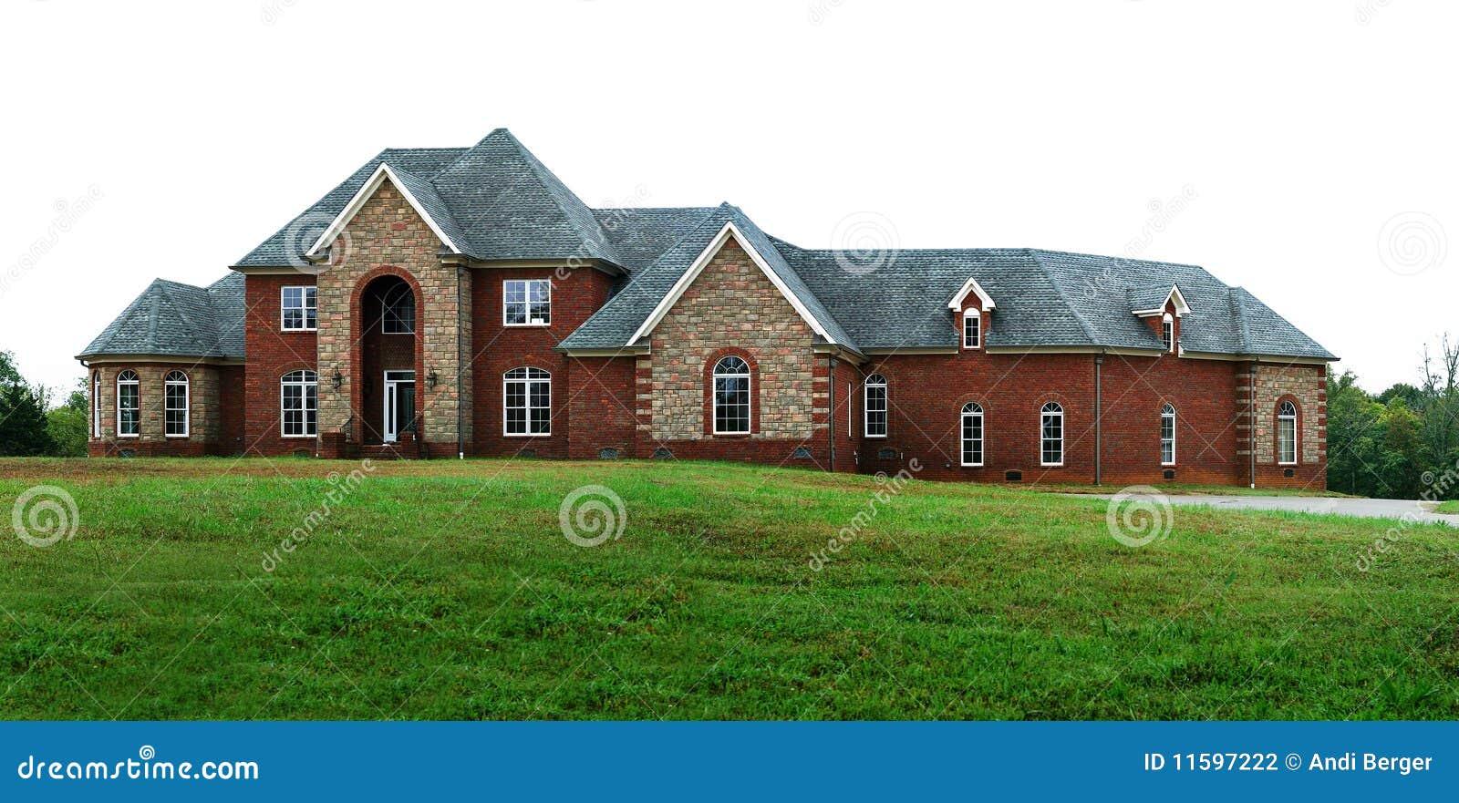 Het mooie huis van de droom stock fotografie afbeelding 11597222 - Mooie huis foto ...