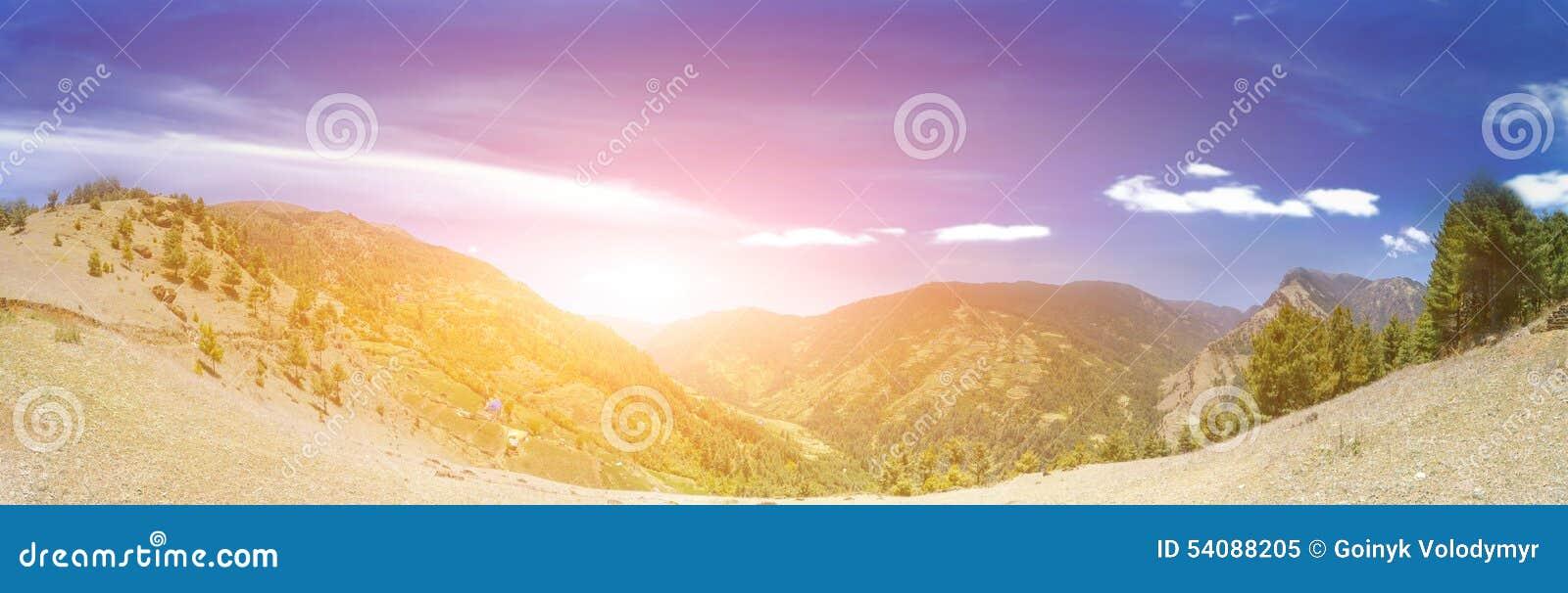 Het mooie Landschap van de Berg