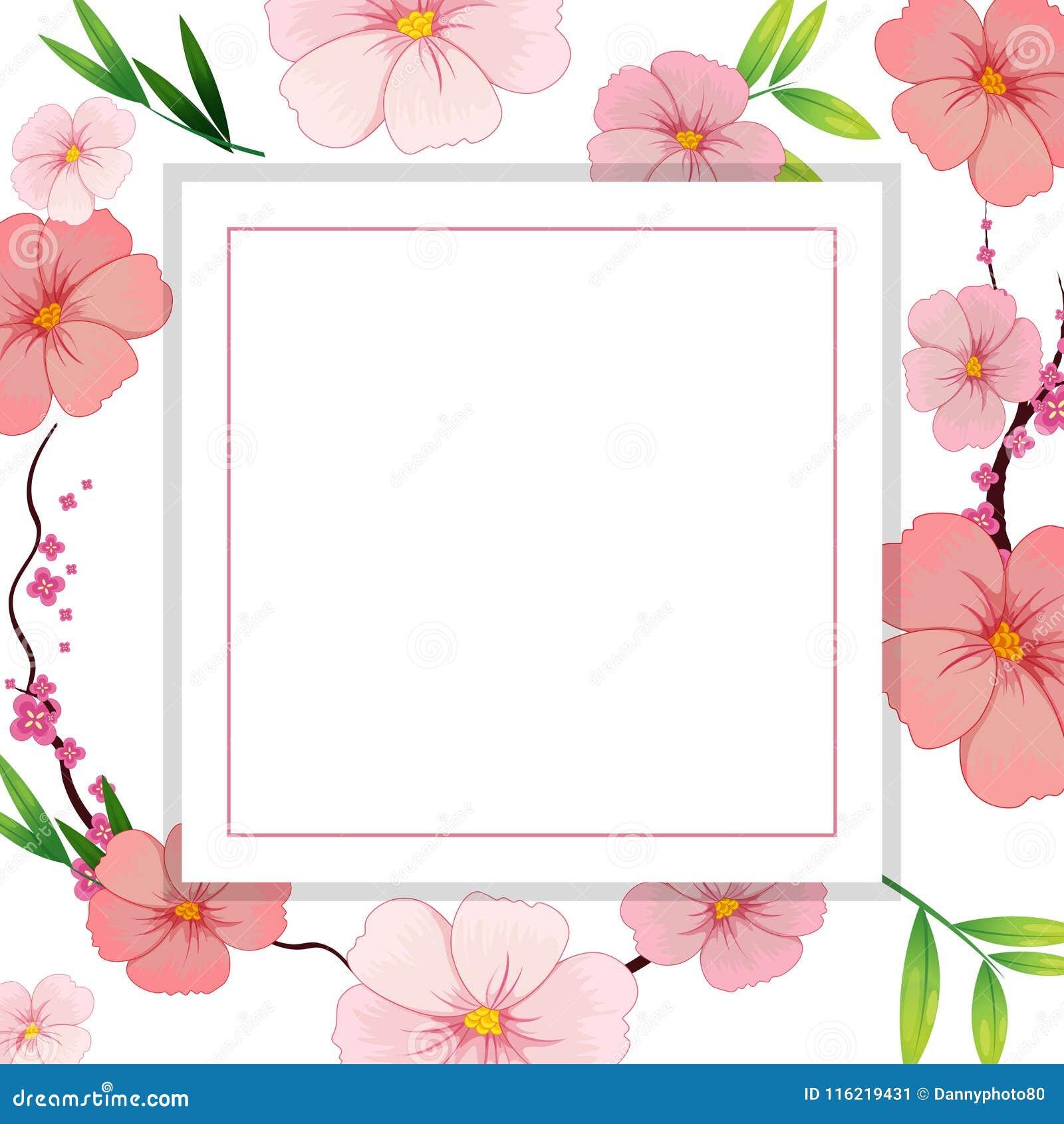 Het mooie Roze Malplaatje van de Hibiscusbloem
