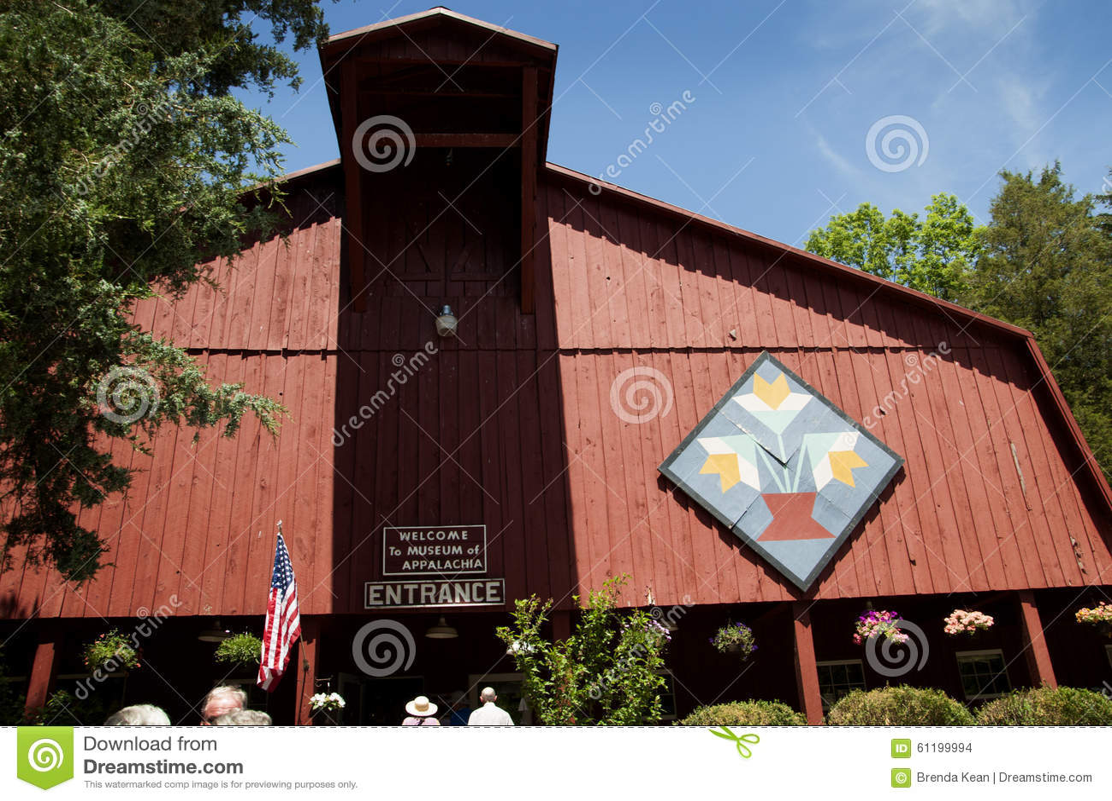 Het Museum van Appalachia, Clinton, Tennesee, de V.S.