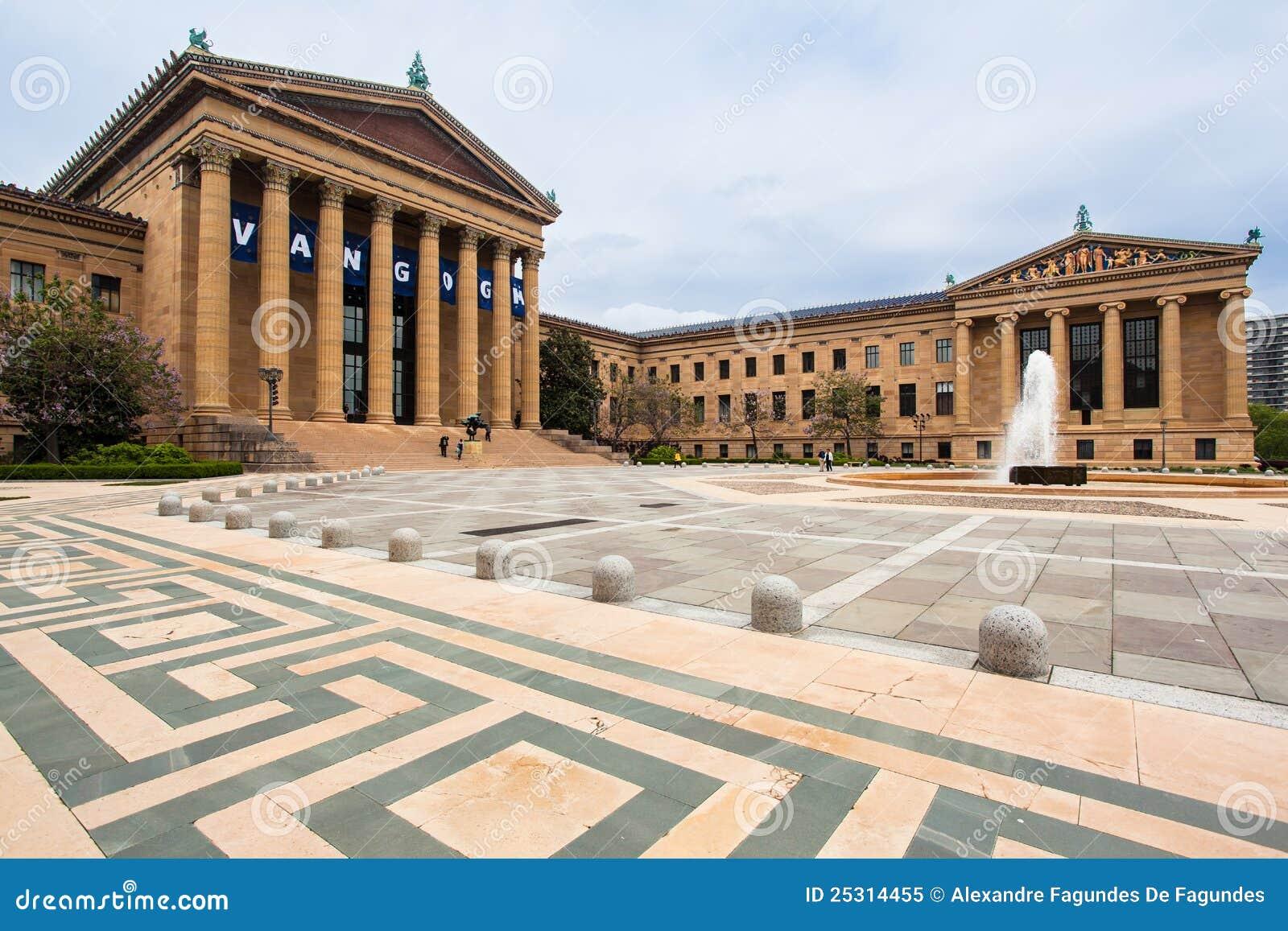 Het Museum van Philadelphia van Art.