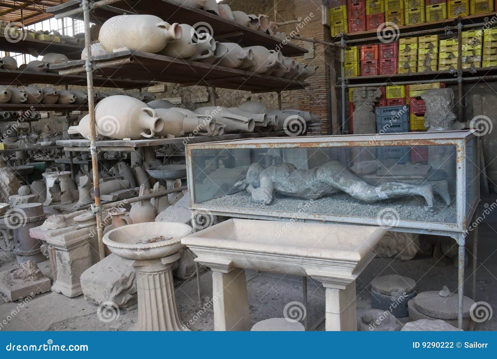Het museum van Pompei