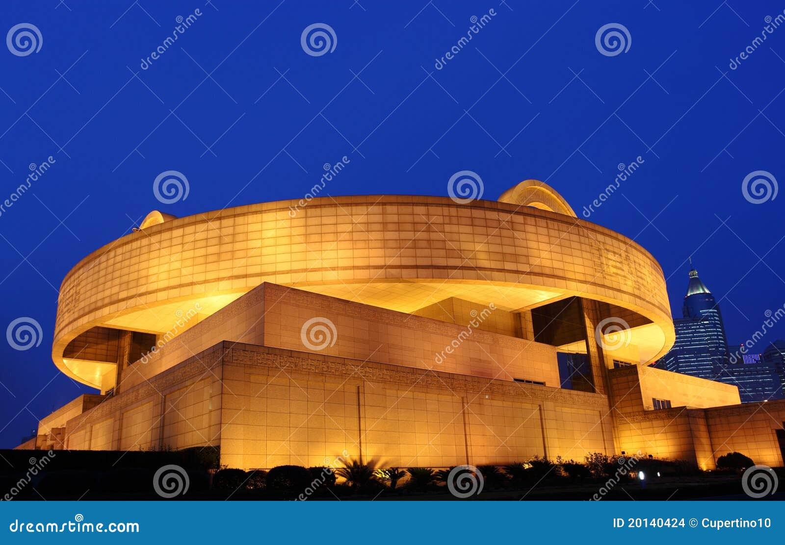 Het museum van Shanghai