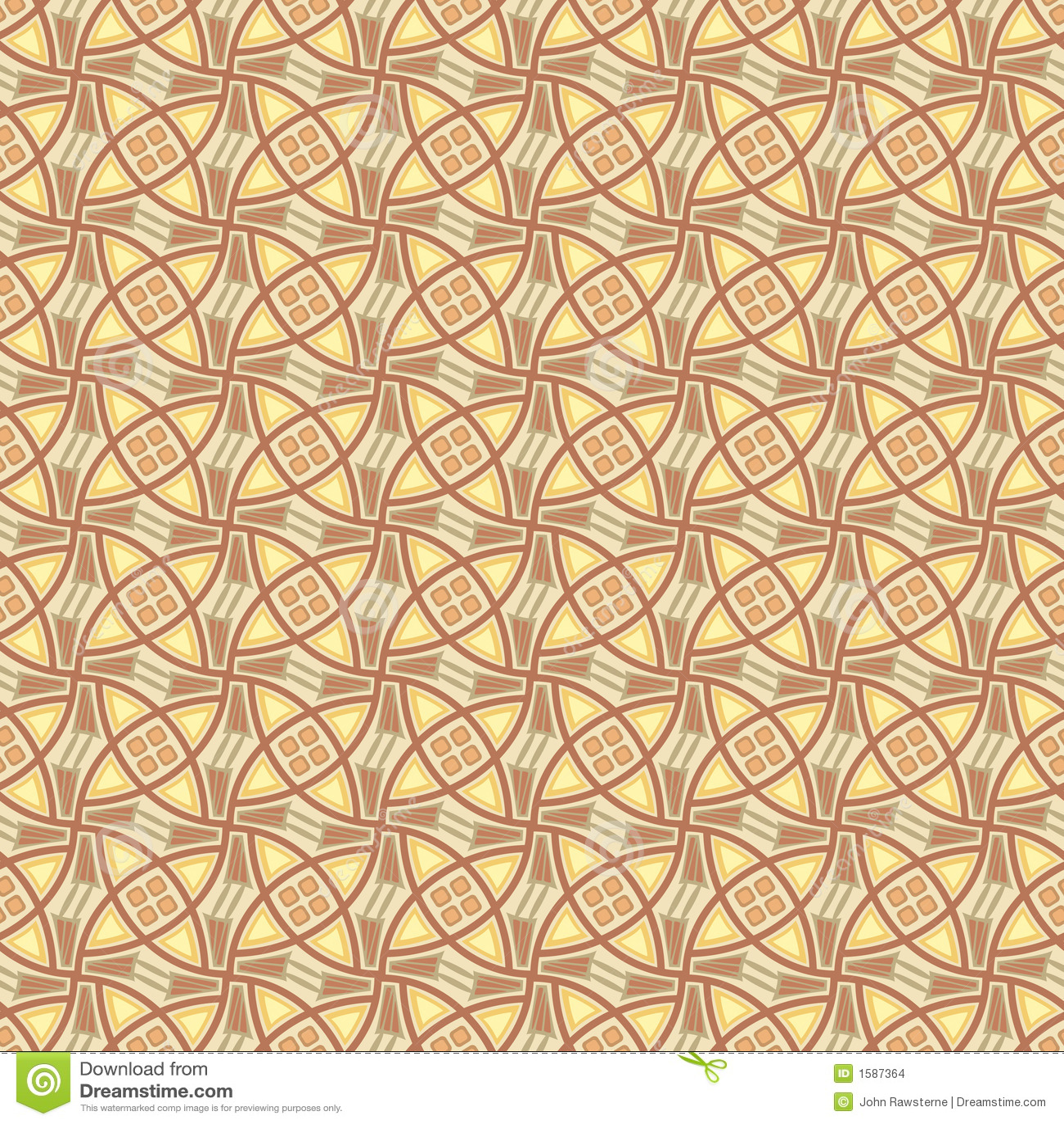 Het naadloze abstracte patroon van het behang stock afbeeldingen afbeelding 1587364 - Behang van de jaren ...
