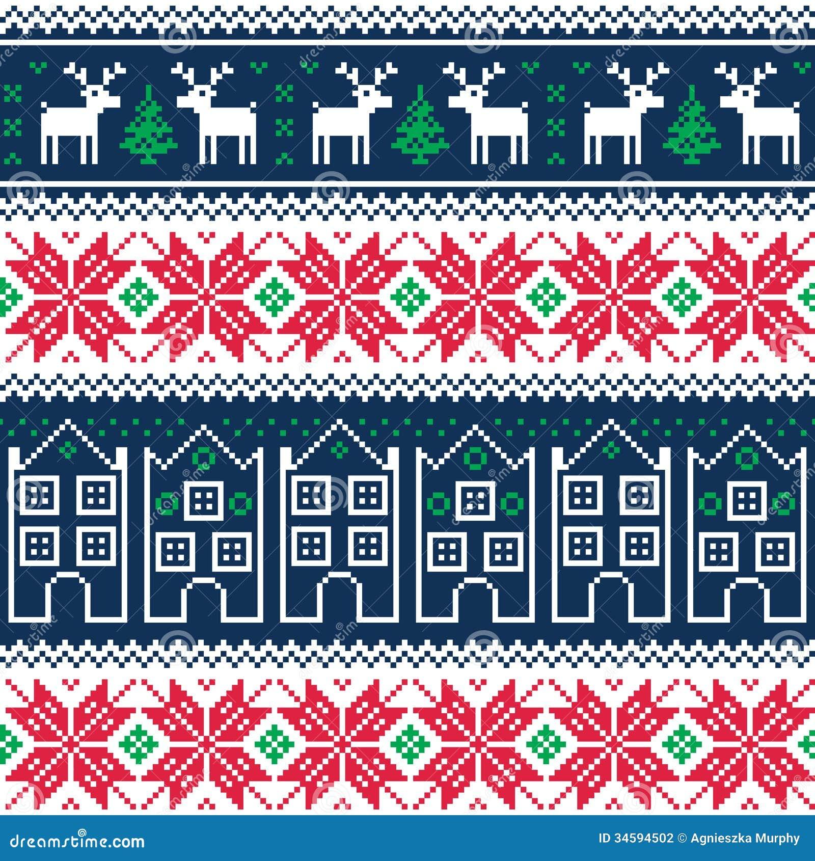 Vintage christmas tumblr backgrounds tumblr backgrounds vintage - Het Naadloze Patroon Van De Winterkerstmis Met Rendier