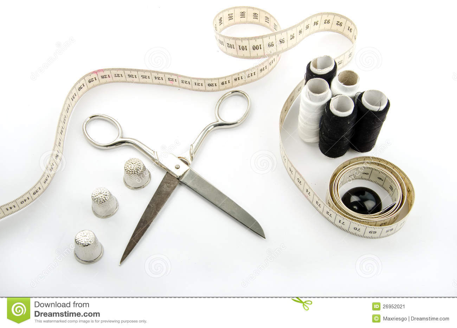Het naaien van voorwerpen