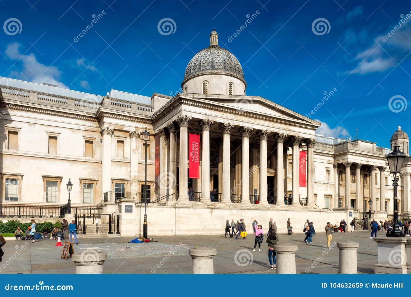 Download Het National Gallery Londen Redactionele Stock Afbeelding - Afbeelding bestaande uit groot, geeft: 104632659