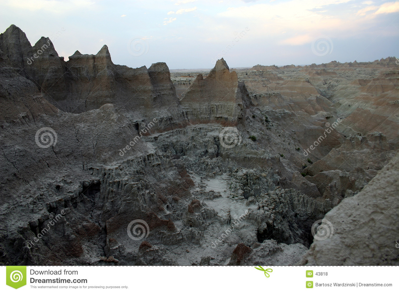 Het Nationale Park van Badlands