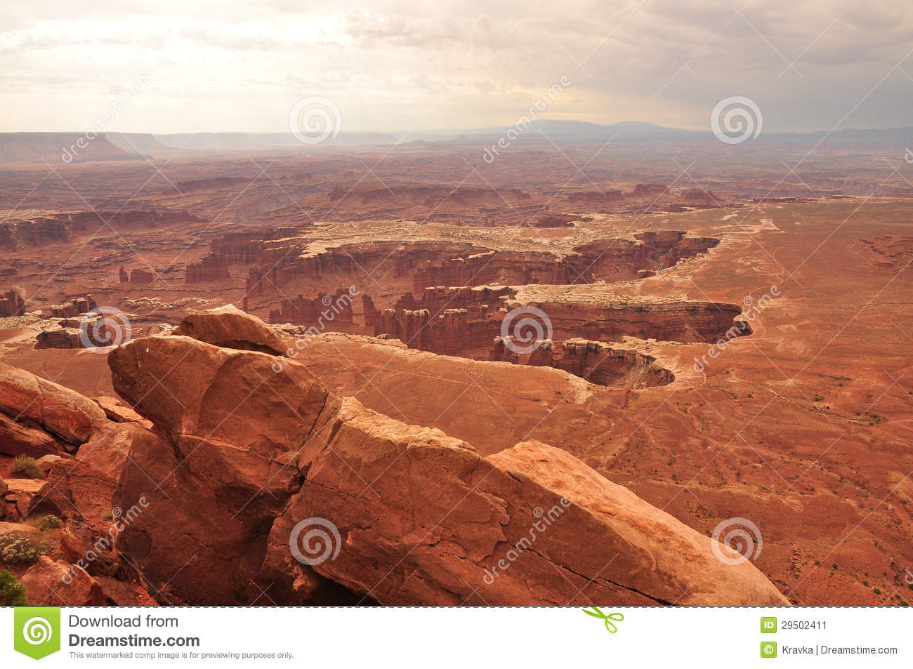 Het Nationale Park van Canyonlands