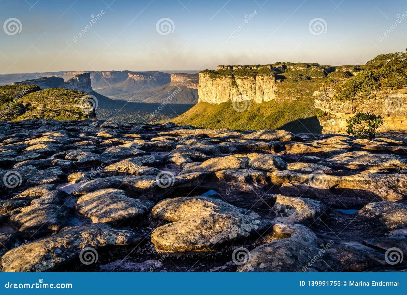 Het Nationale Park van Chapadadiamantina, Bahia, Brazilië