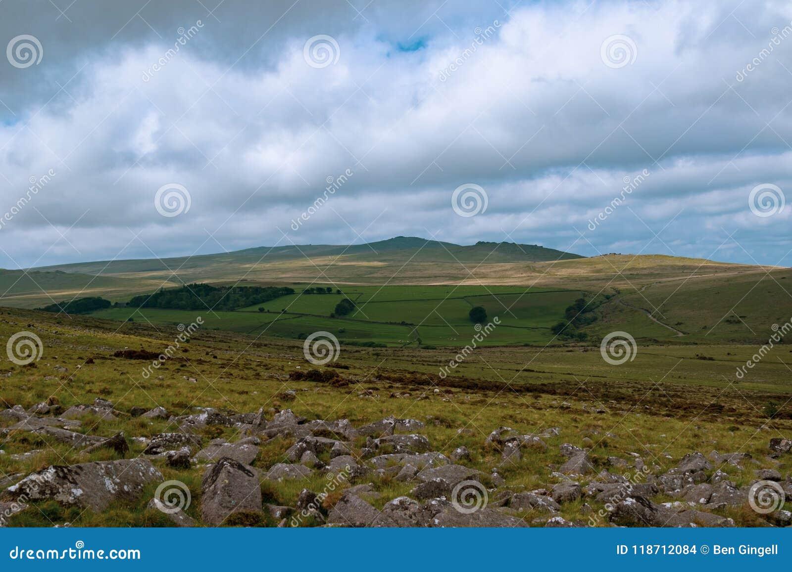 Het Nationale Park van Dartmoor
