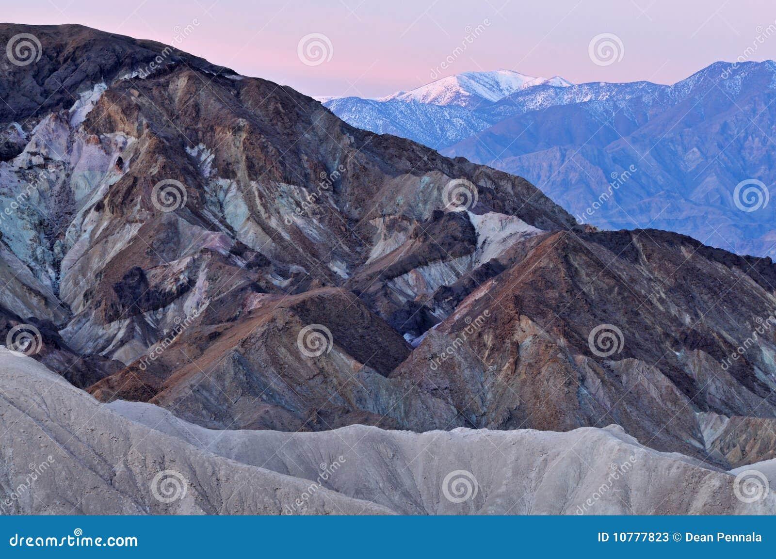 Het Nationale Park van de Vallei van de dood