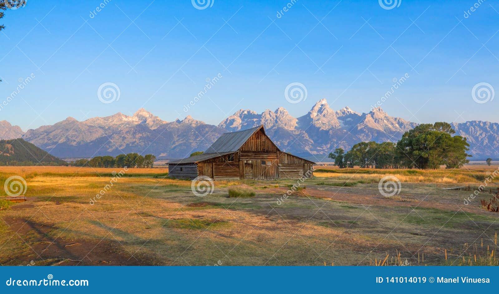 Het nationale park van Grand Teton, WY, de V.S.