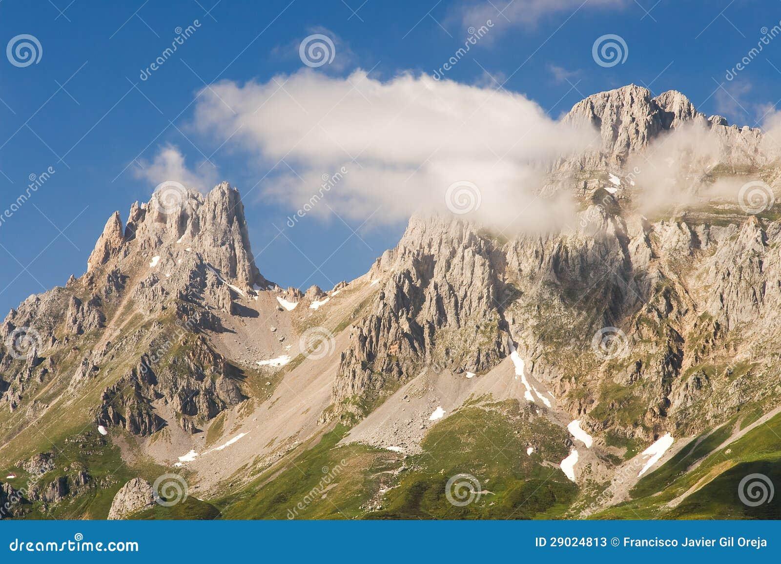 Het nationale park van Picos DE Europa, Leon