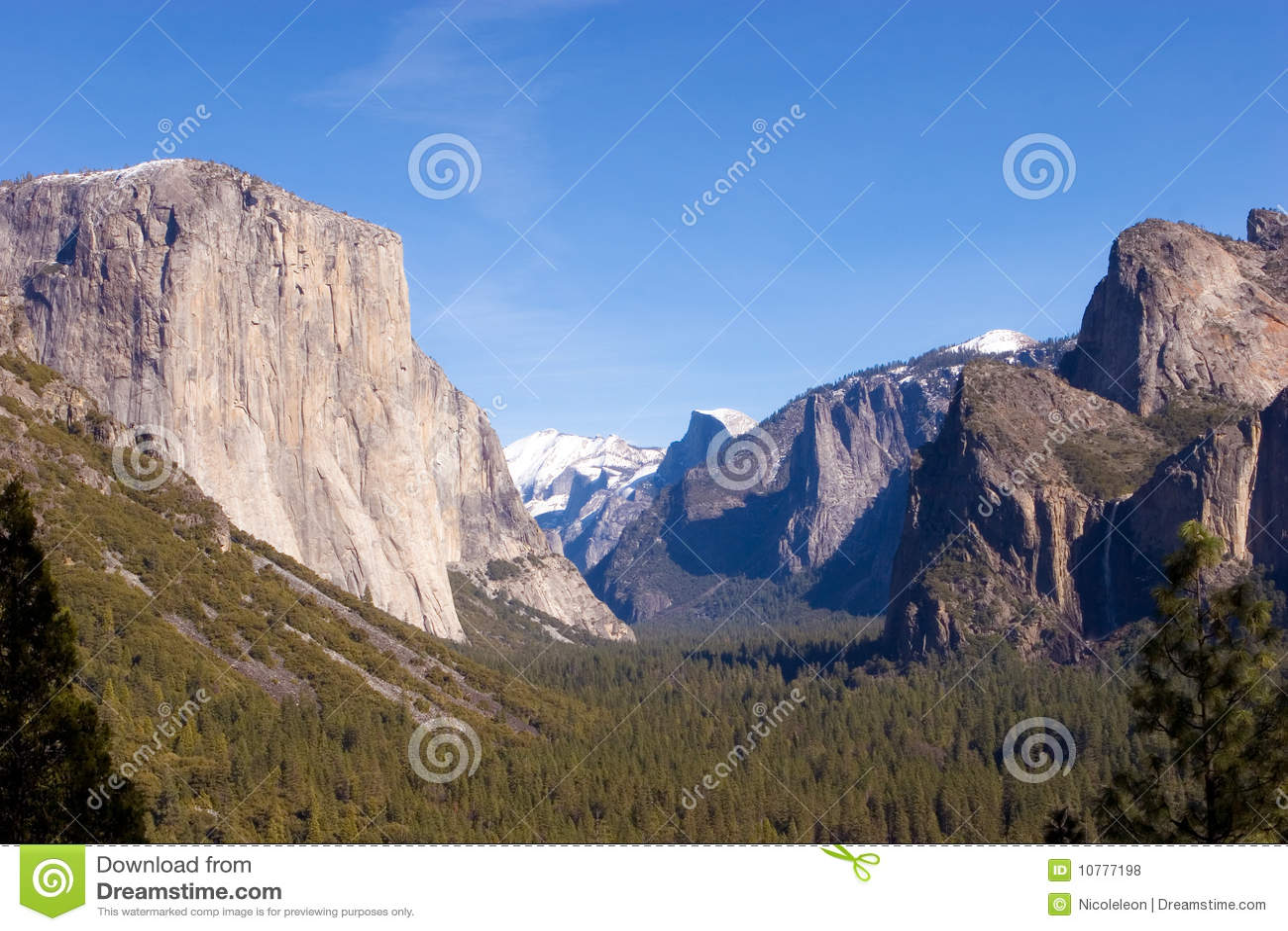 Het Nationale Park van Yosemite