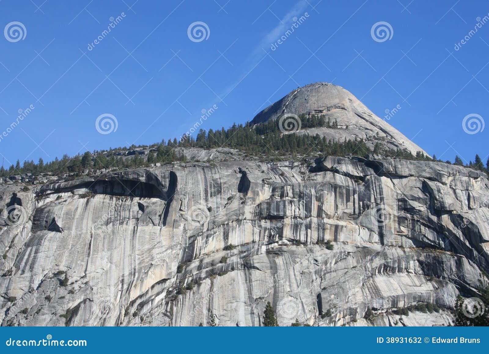 Het Nationale Park van Yosemite van de het noordenkoepel