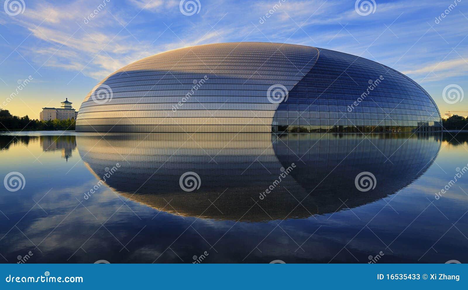 Het Nationale Theater van China in Peking