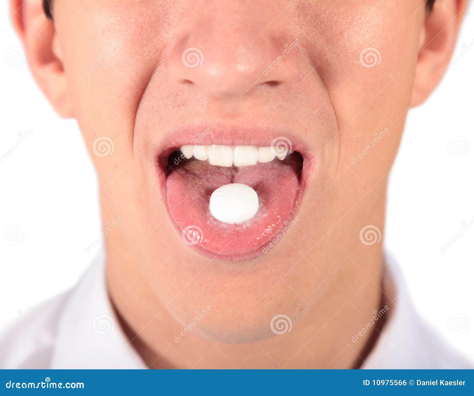 Het nemen van pillen