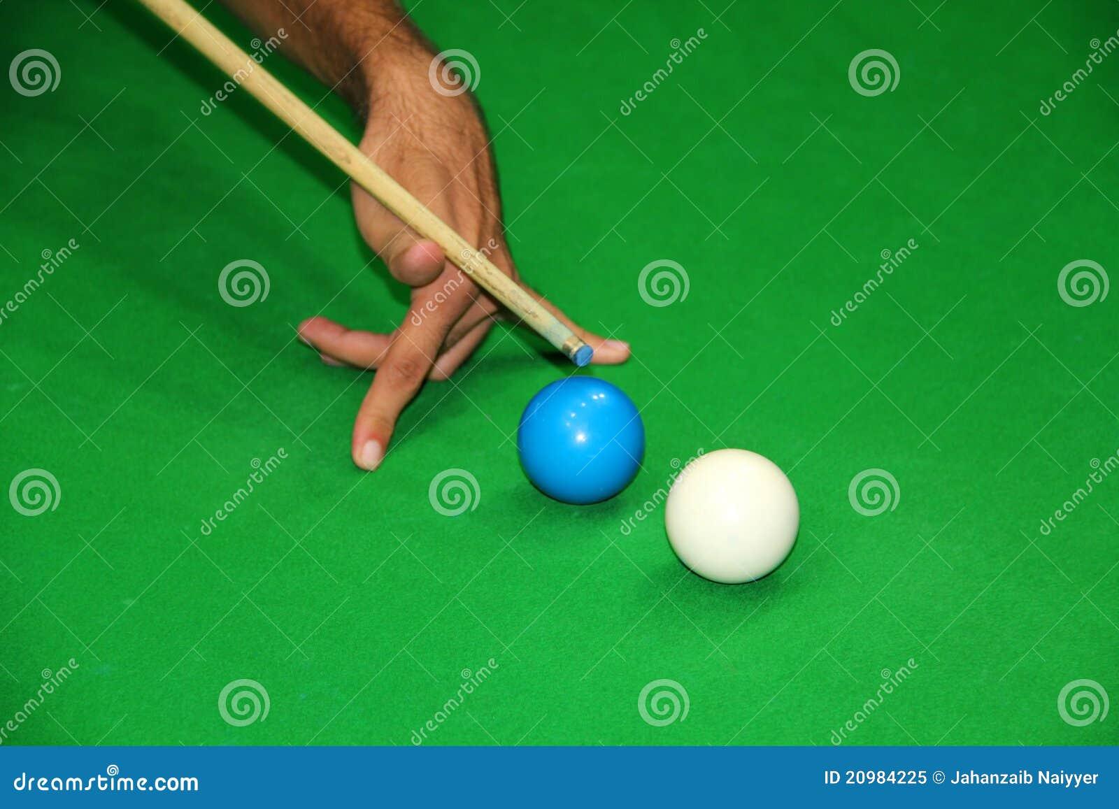 Het netelige Schot van de Snooker