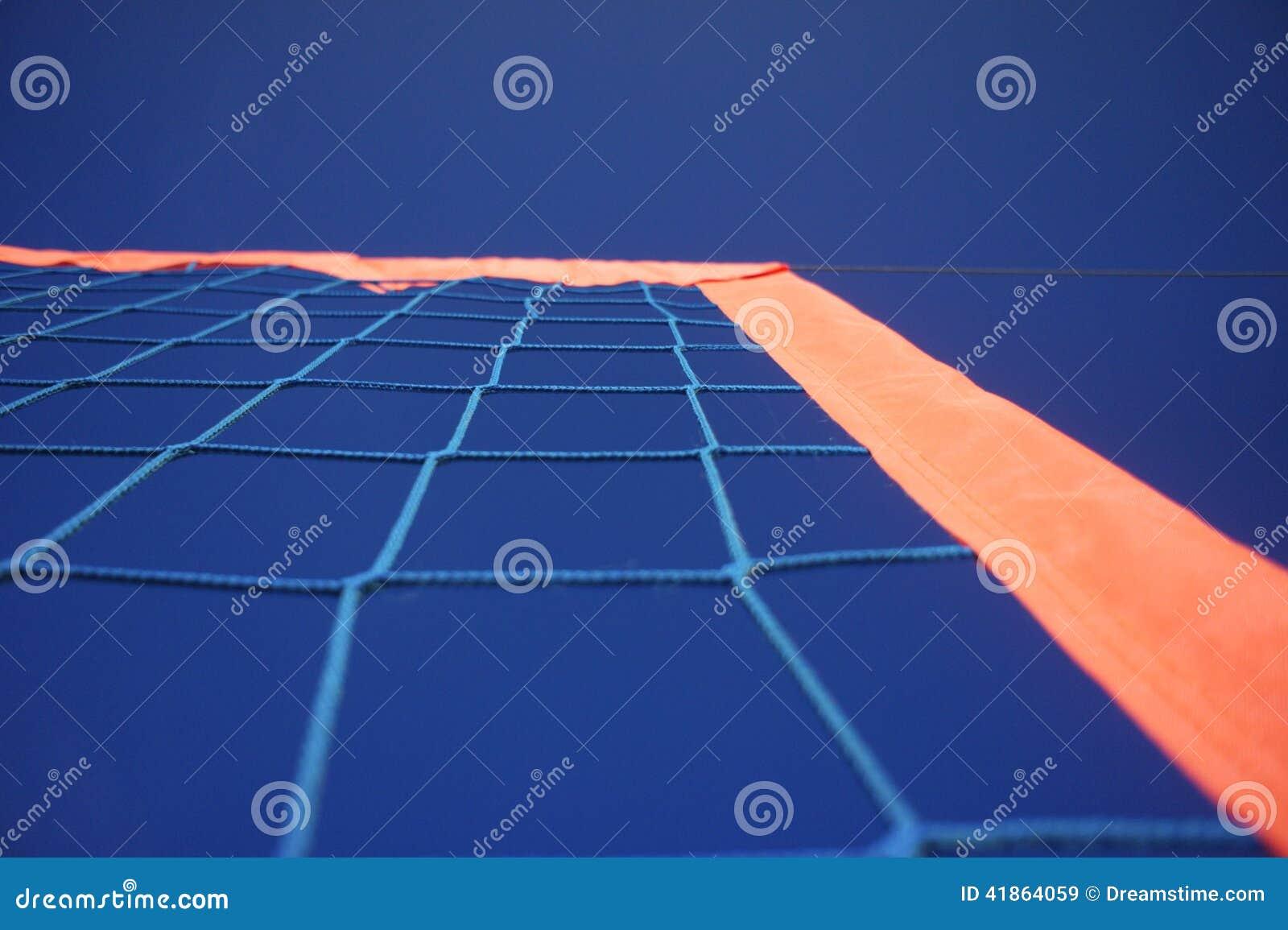 Het netto Blauwe van de het strandzon van hemelsporten van het het volleyballvoetbal doel van het het tennishandbal