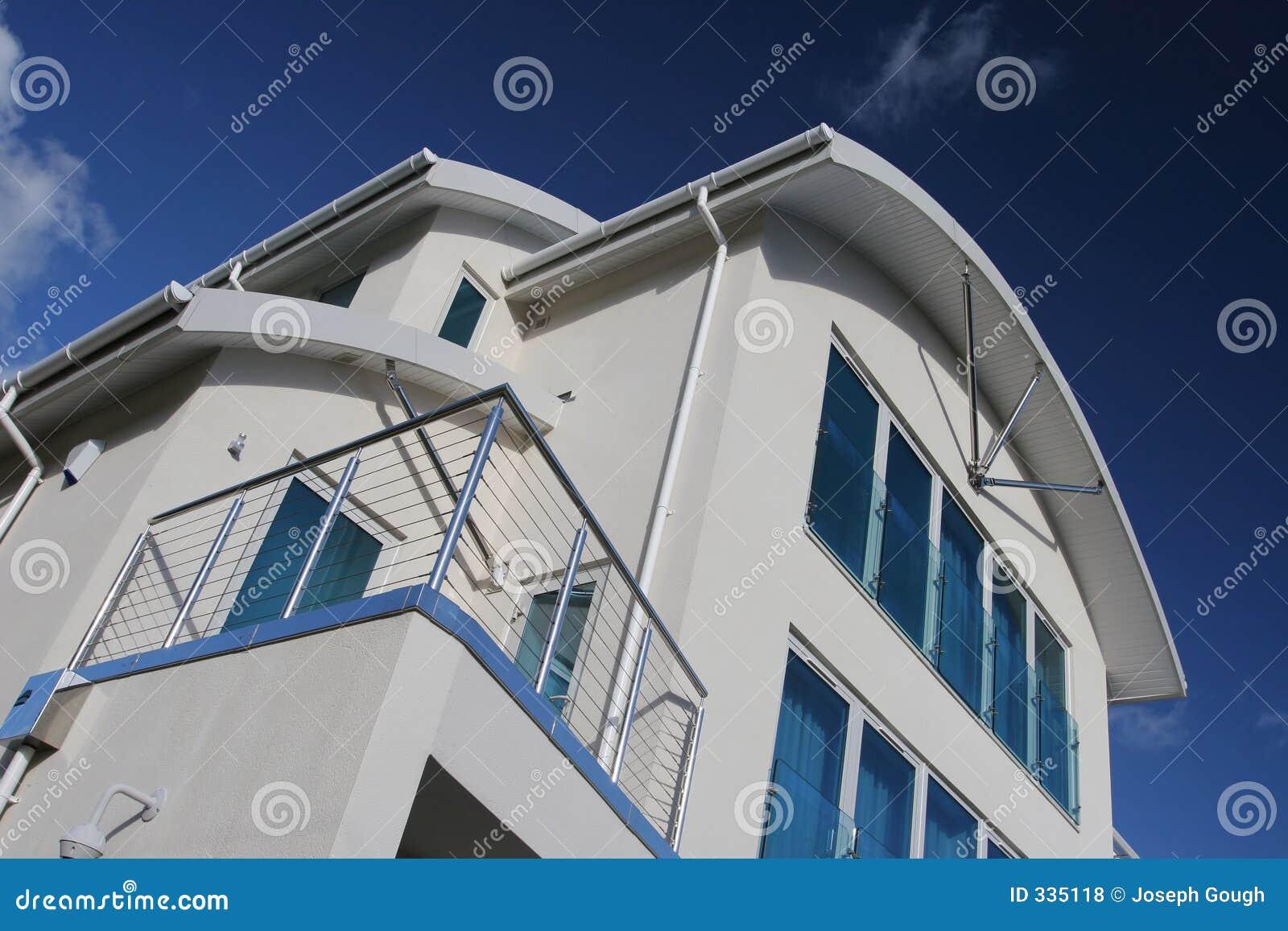 Het nieuwe Moderne Huis van het Huis van de Luxe