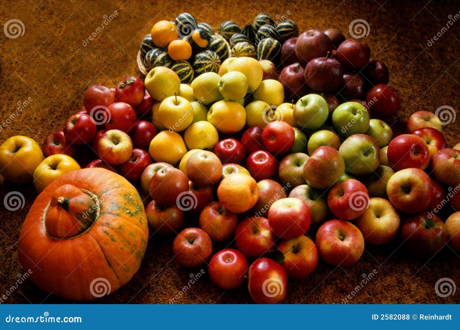 Het nog-leven met appelen