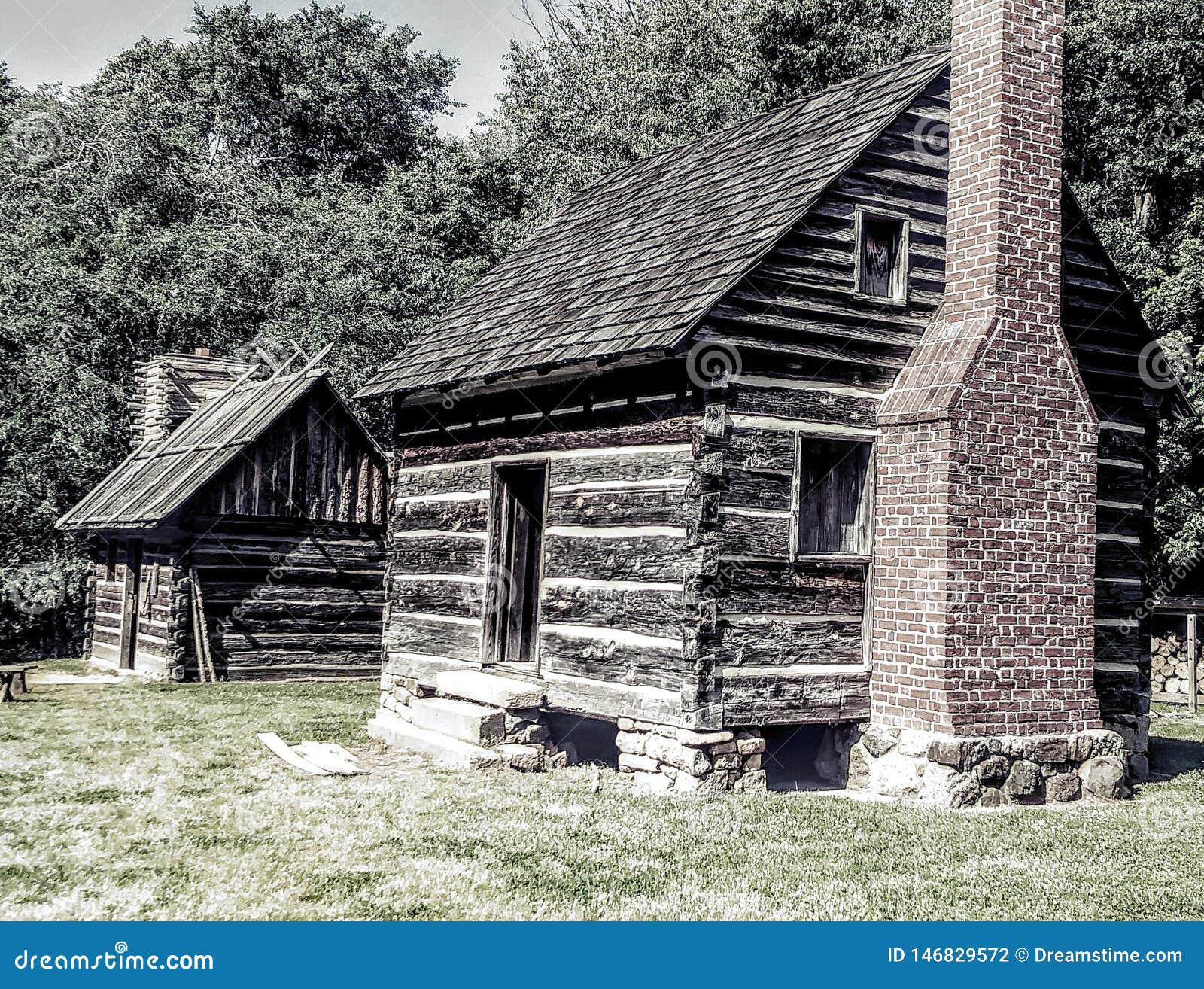 1800 het Noorden Carolina Cabins