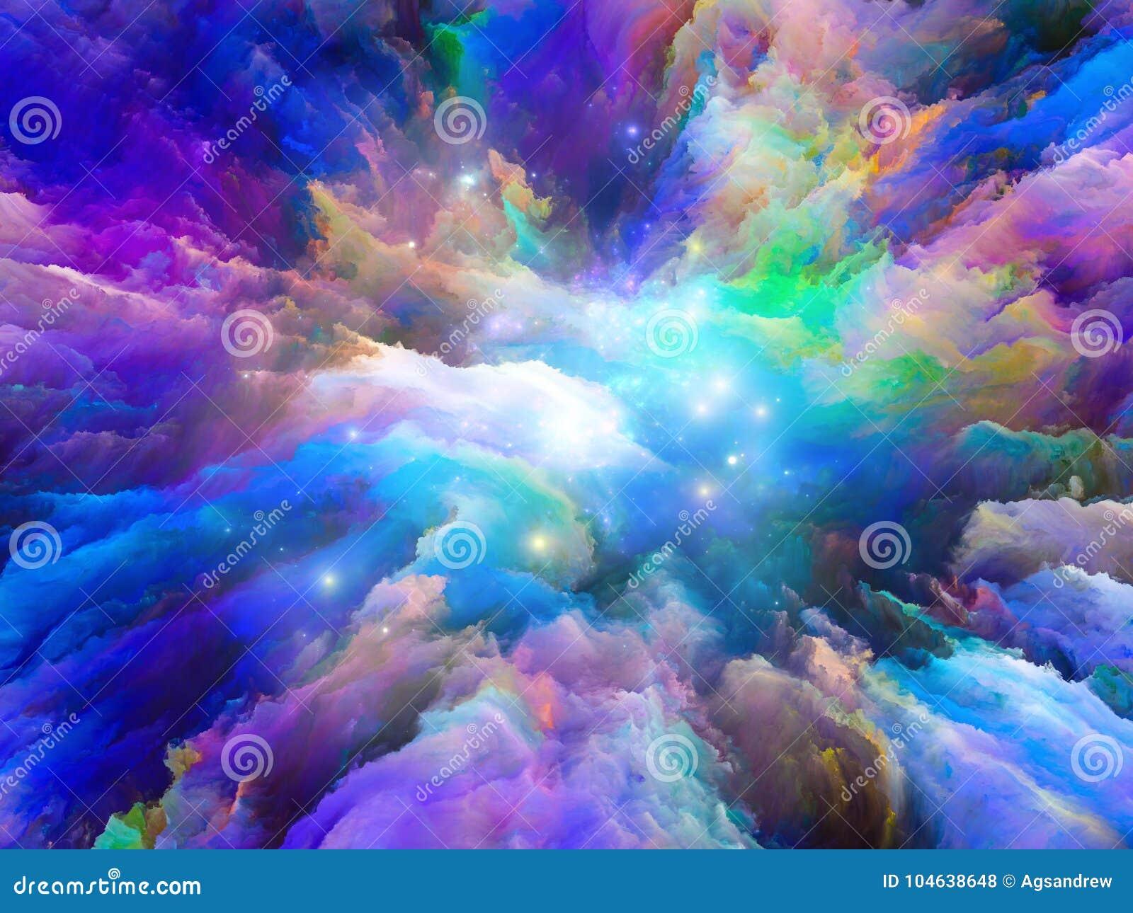 Download Het Noorden Van Surreal Verf Stock Illustratie - Illustratie bestaande uit splatter, creativiteit: 104638648