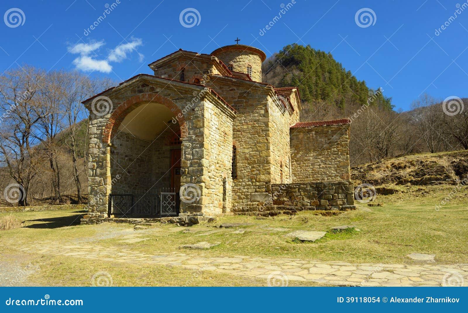 Het noordenkerk in Arkhyz