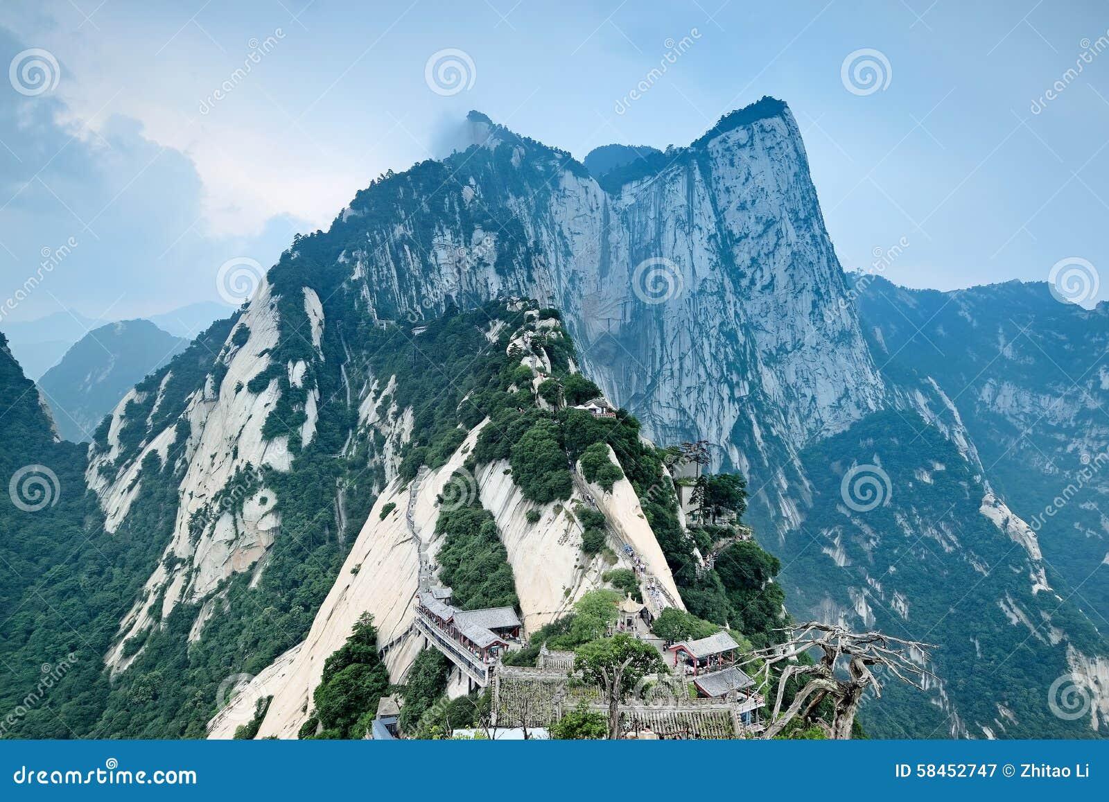 Het noordenpiek in Onderstel Hua China