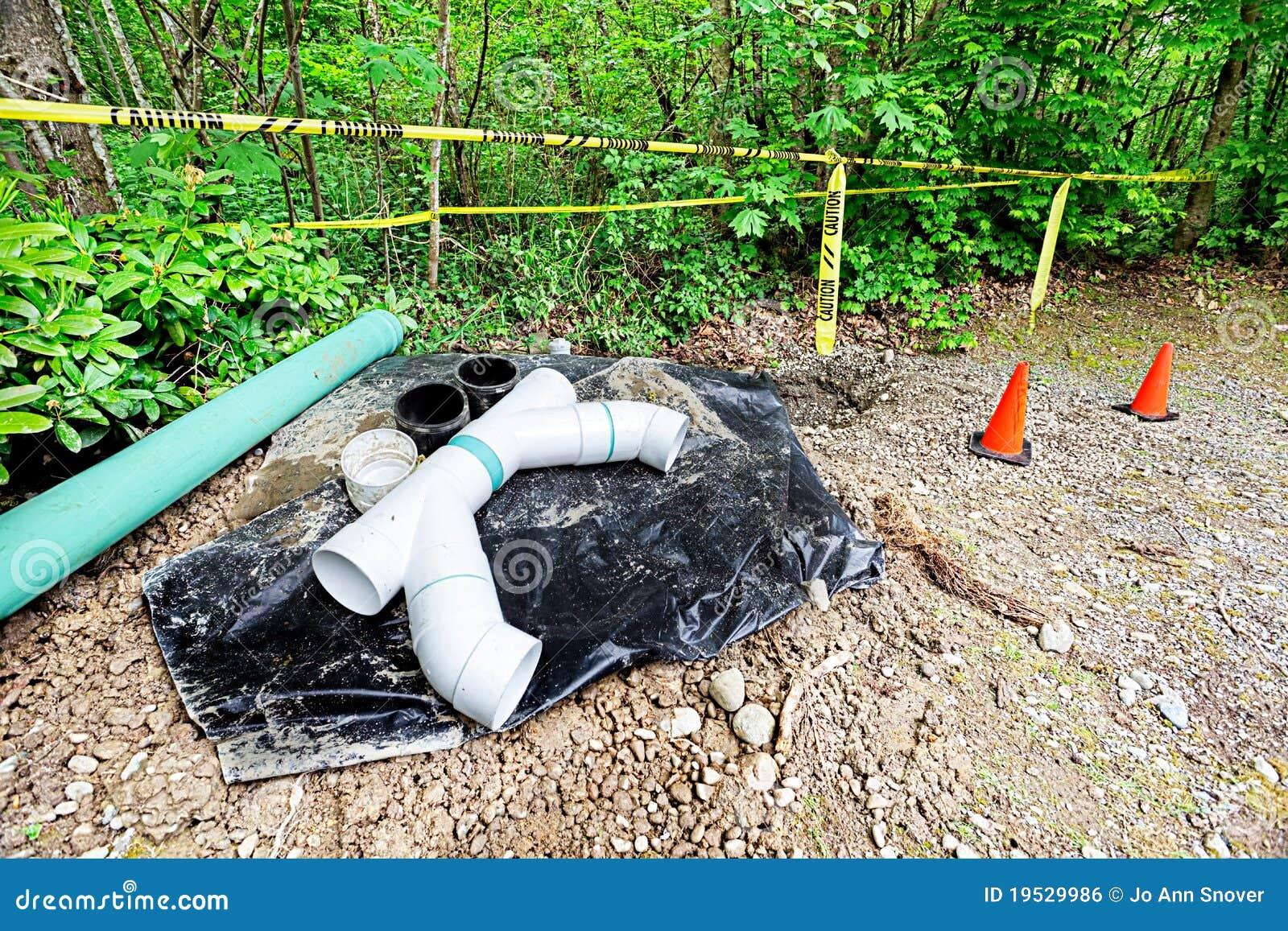 Het onderhoud van de drainage