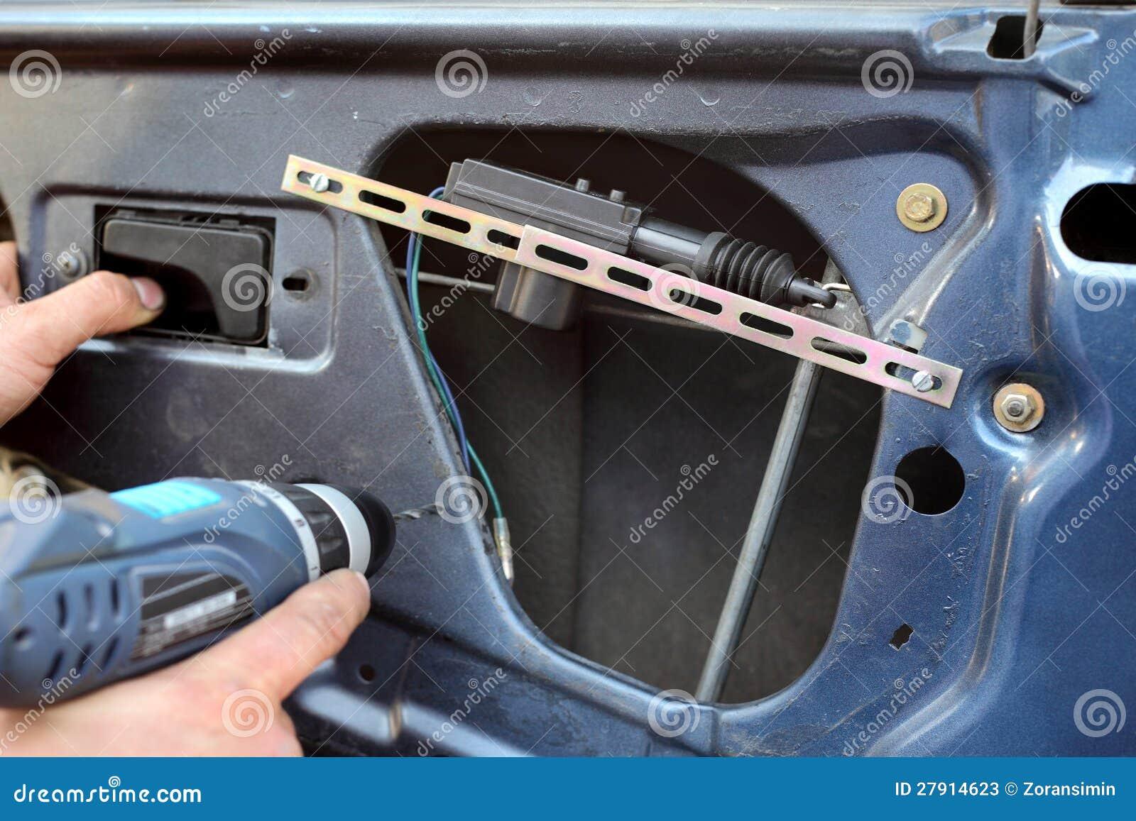 Het onderhouden van de auto