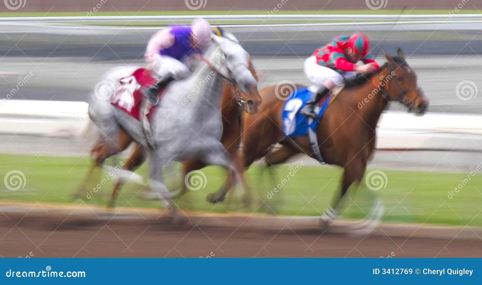 Het Onduidelijke beeld van de motie van het Rennen Paarden