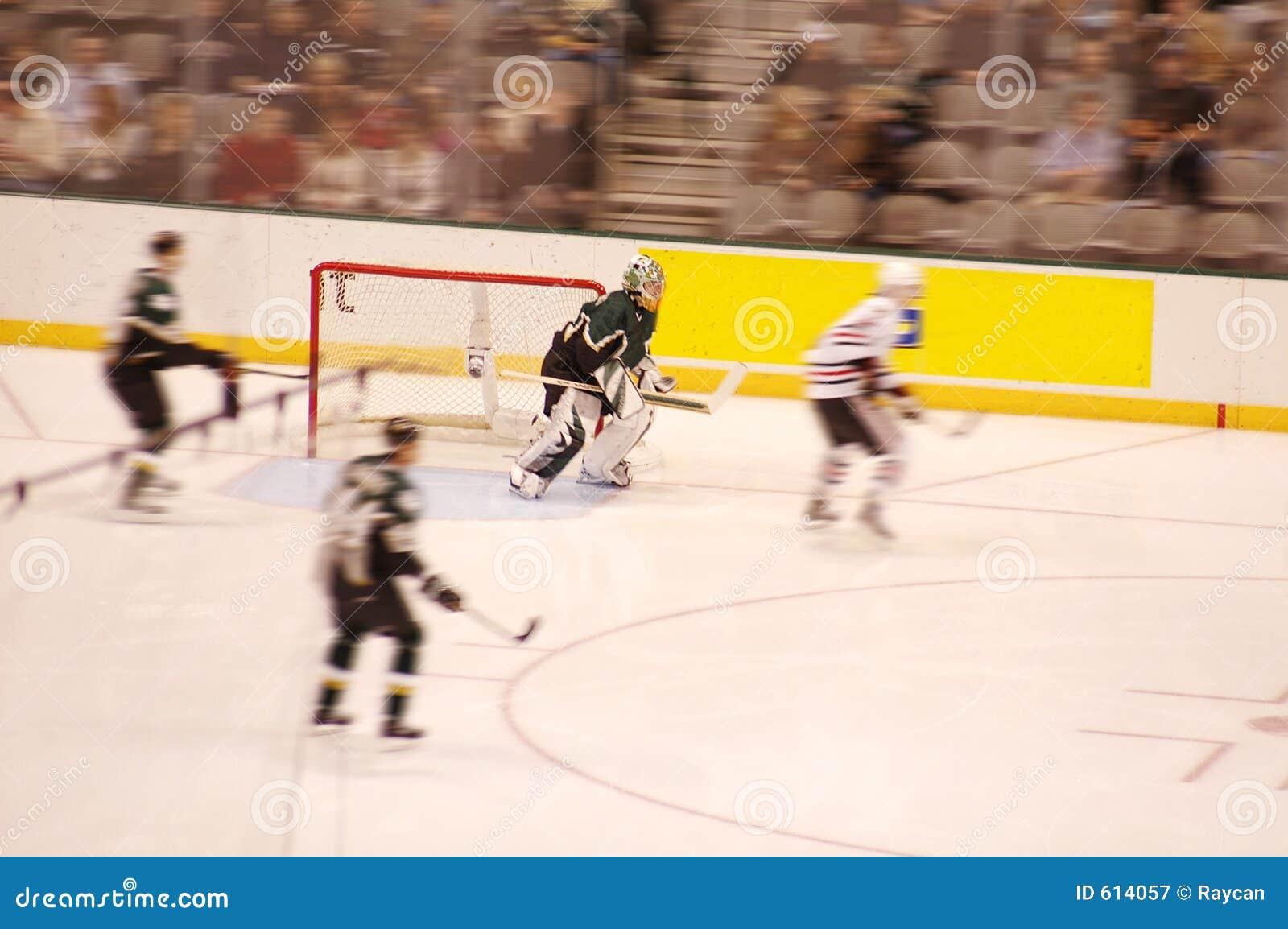 Het Onduidelijke beeld van het ijshockey
