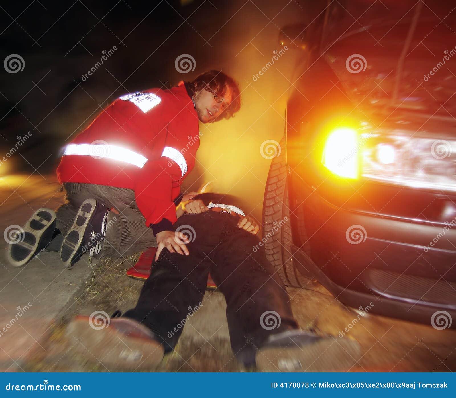 Het ongeval van de weg