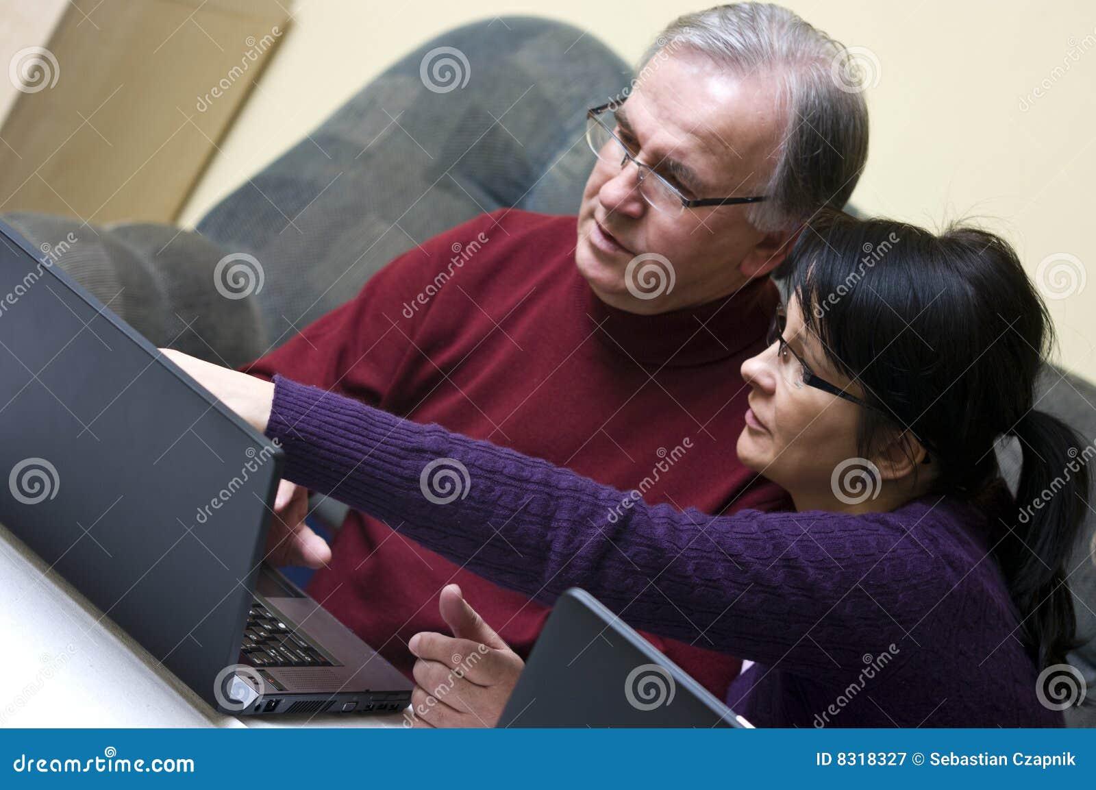Het ontdekken van laptop