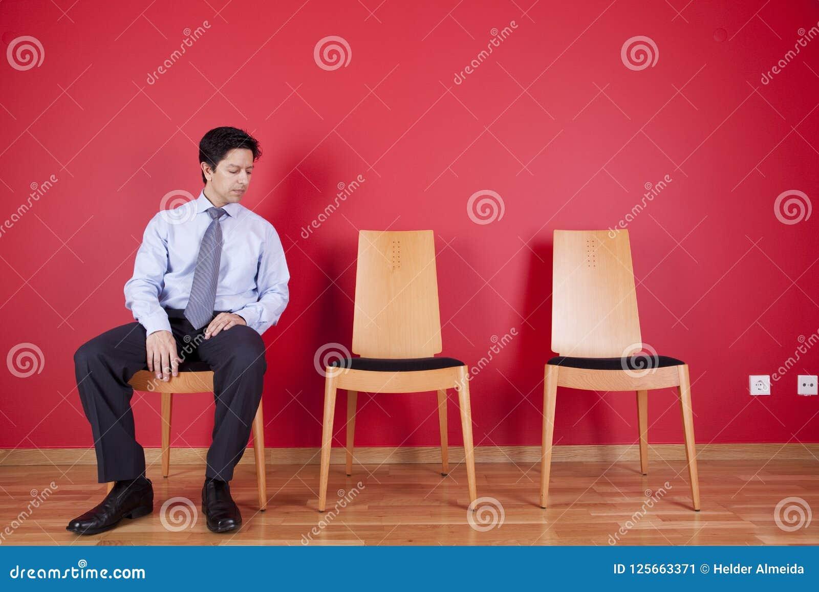 Het ontspannen van de zakenman