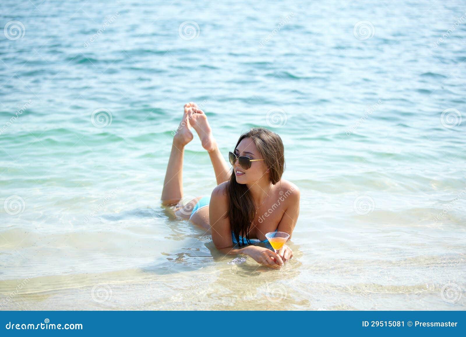 Het ontspannen in water
