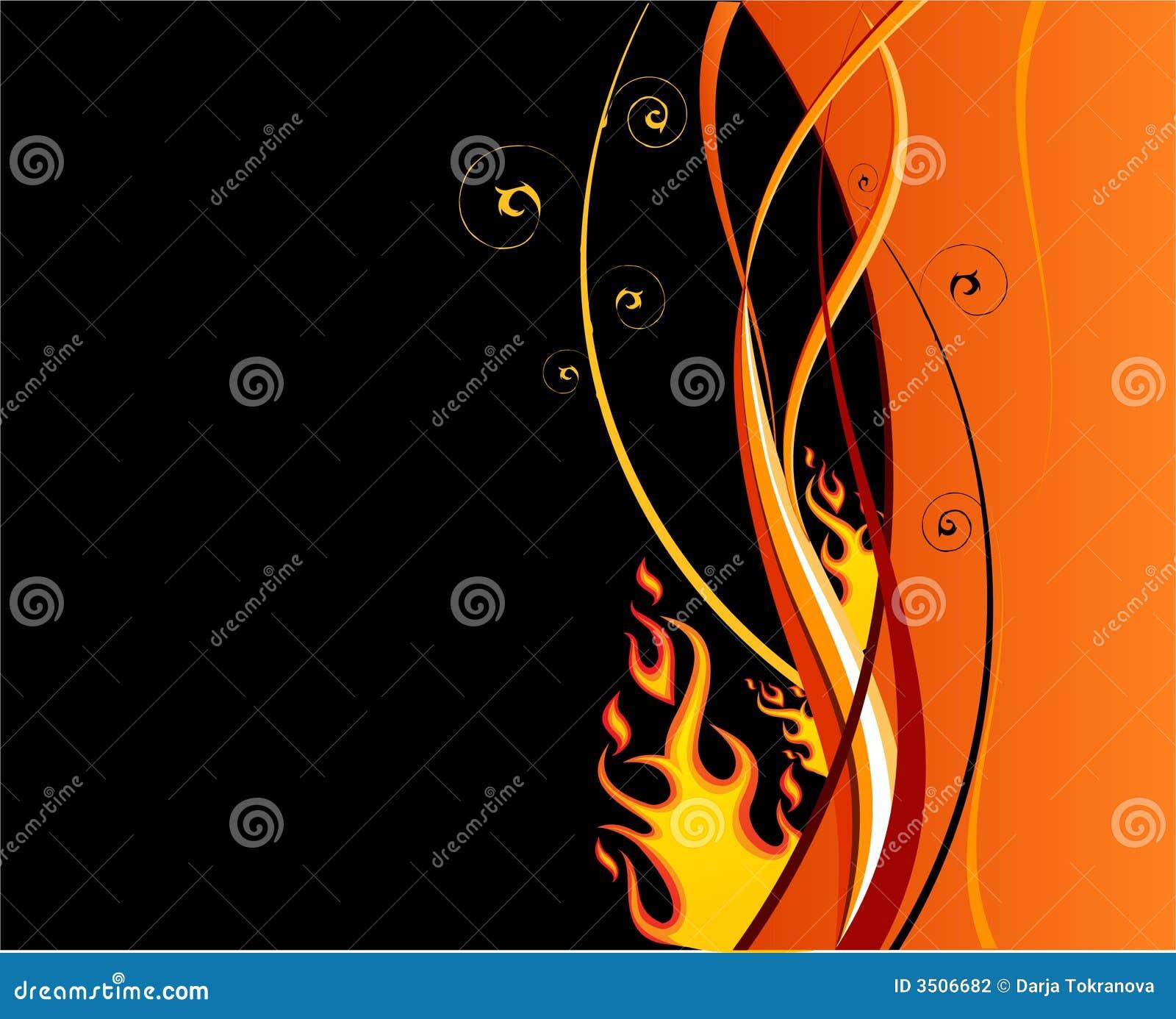 Het ontwerp van de brand