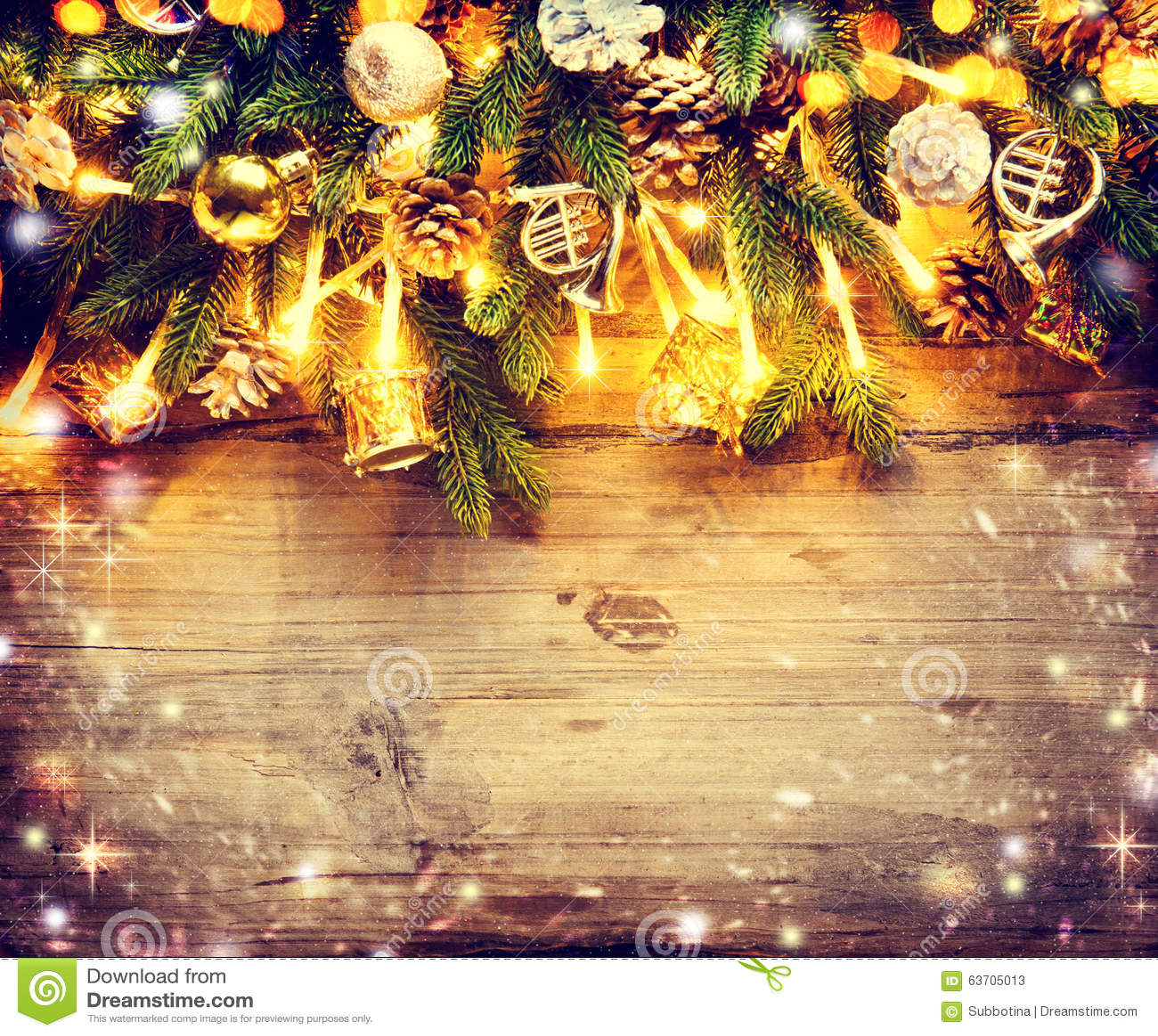 Het ontwerp van de grenskunst met verfraaide kerstboom stock afbeelding afbeelding 63705013 - Separateur van stuk ontwerp ...
