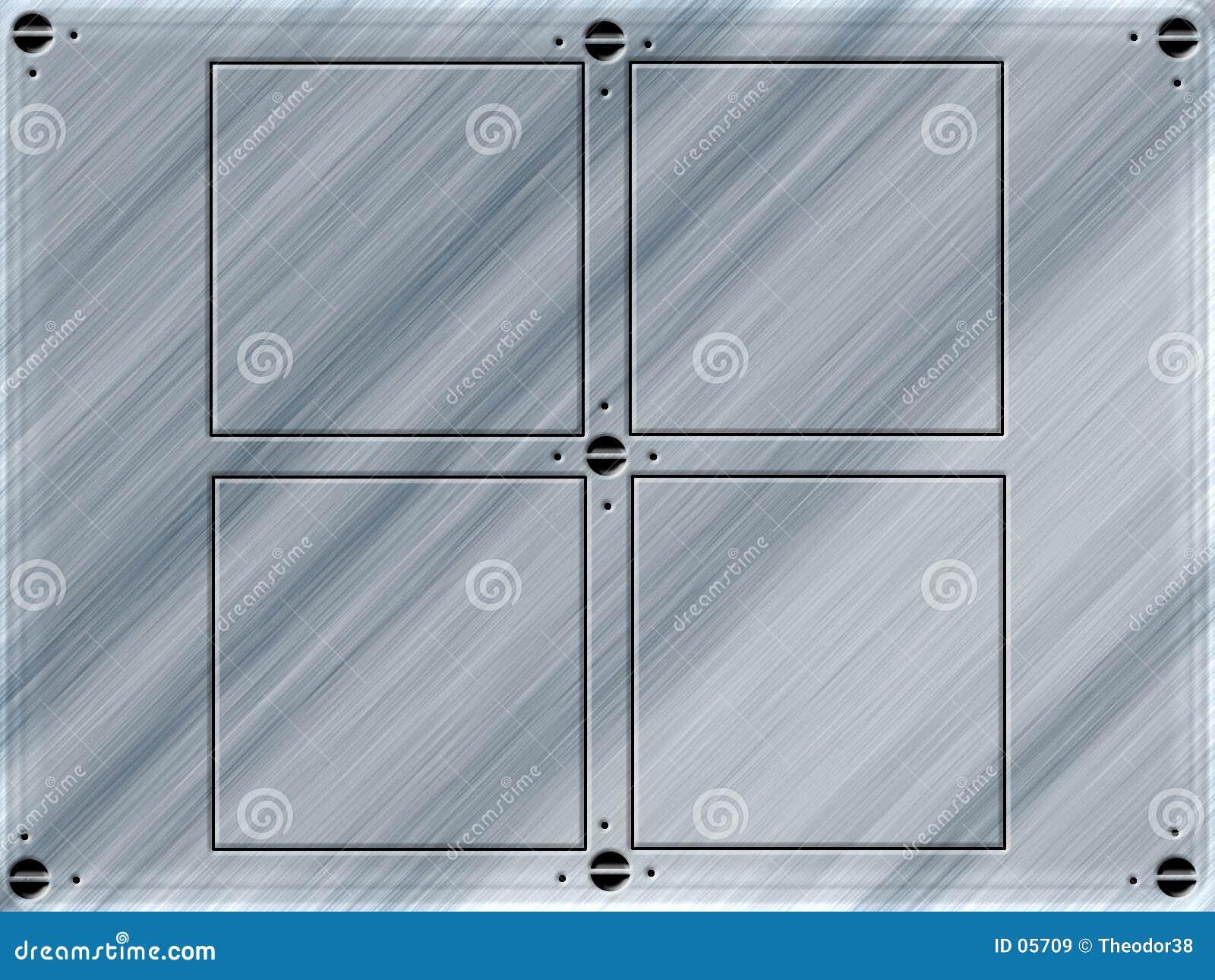 Het ontwerp van de plaat
