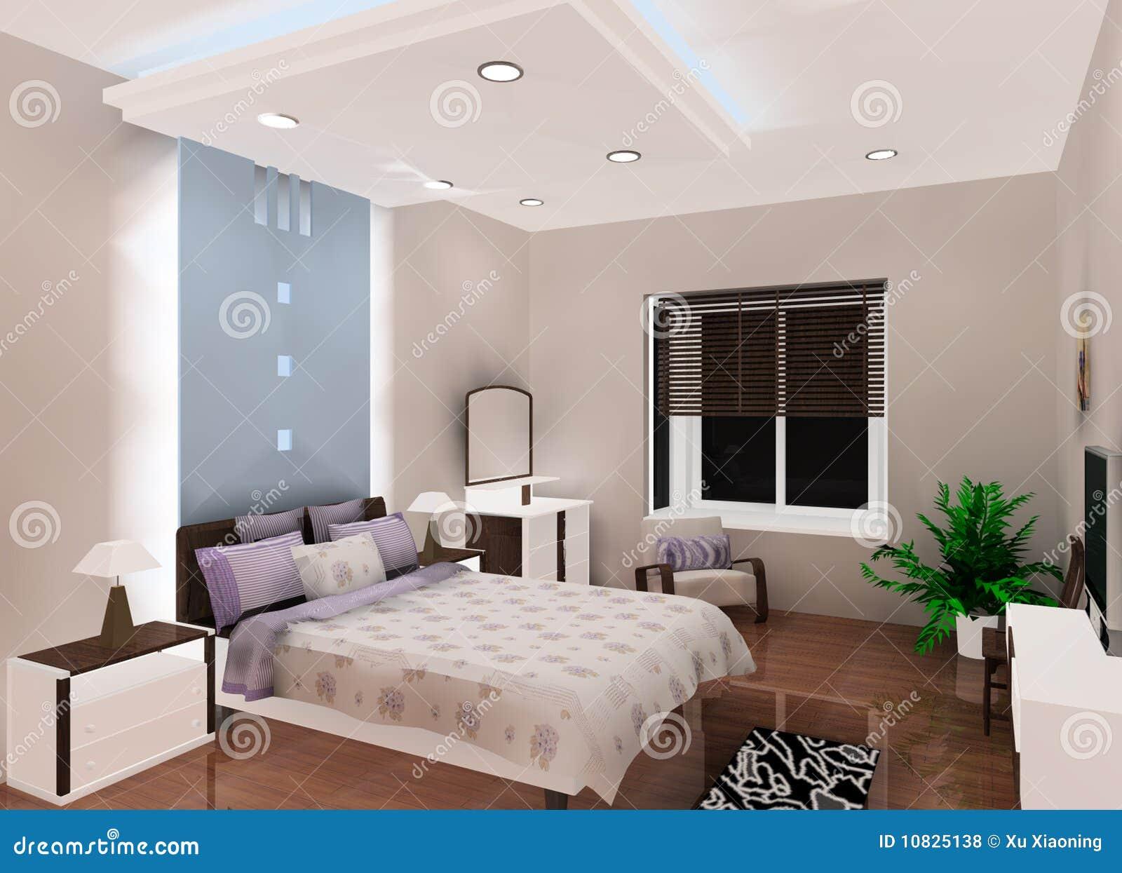 Slaapkamer muur kleur rood - Modern volwassen kamer behang ...