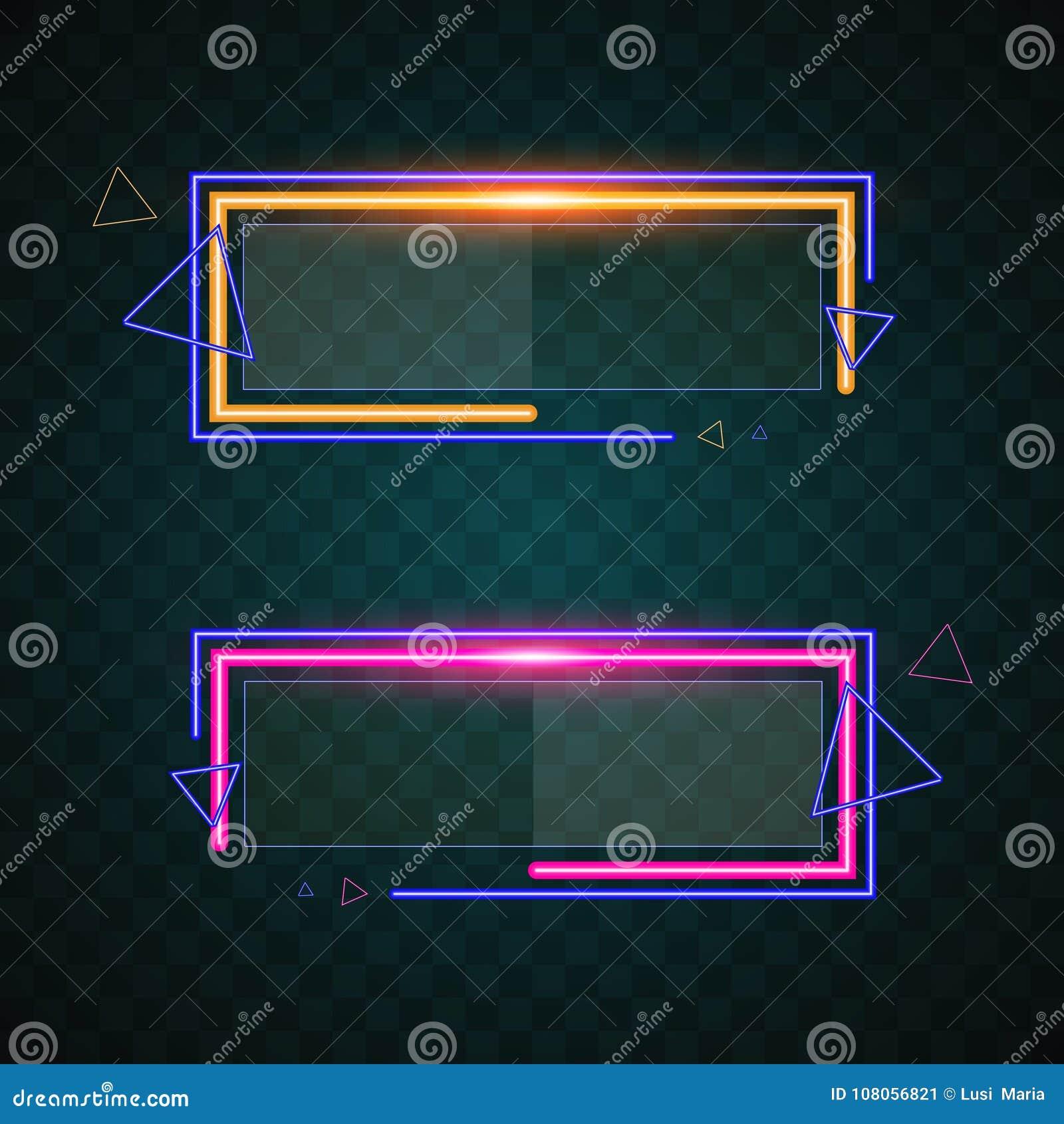 Het ontwerp van de technologiebanner