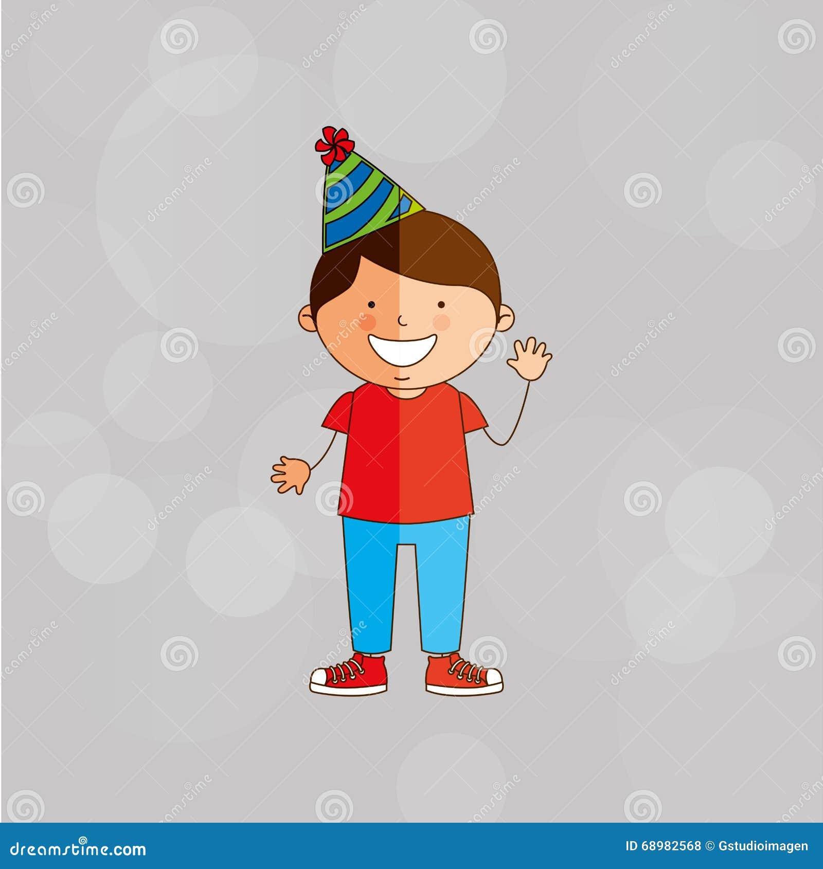Het ontwerp van de verjaardagspartij
