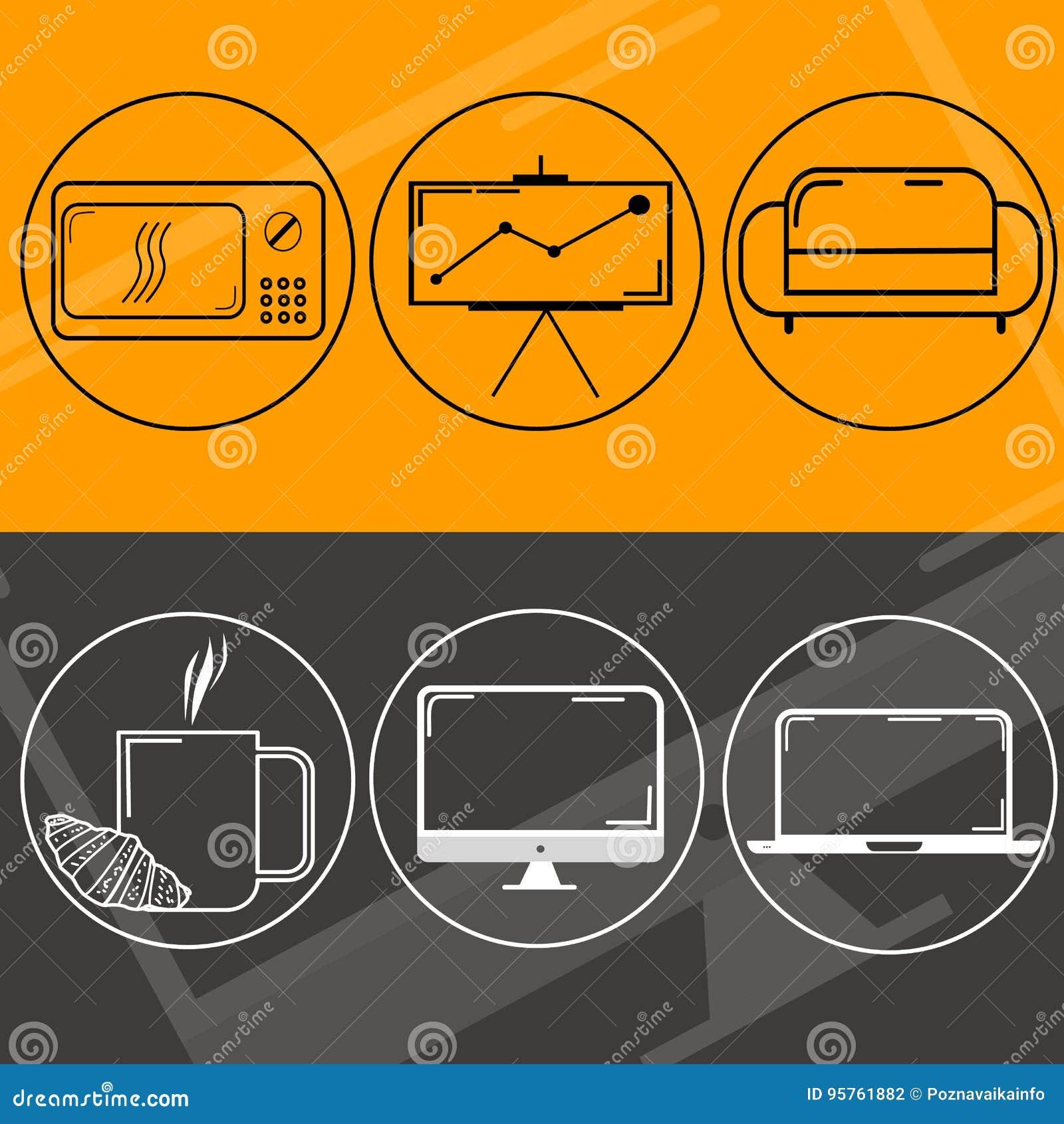 Het ontwerp van het embleemweb